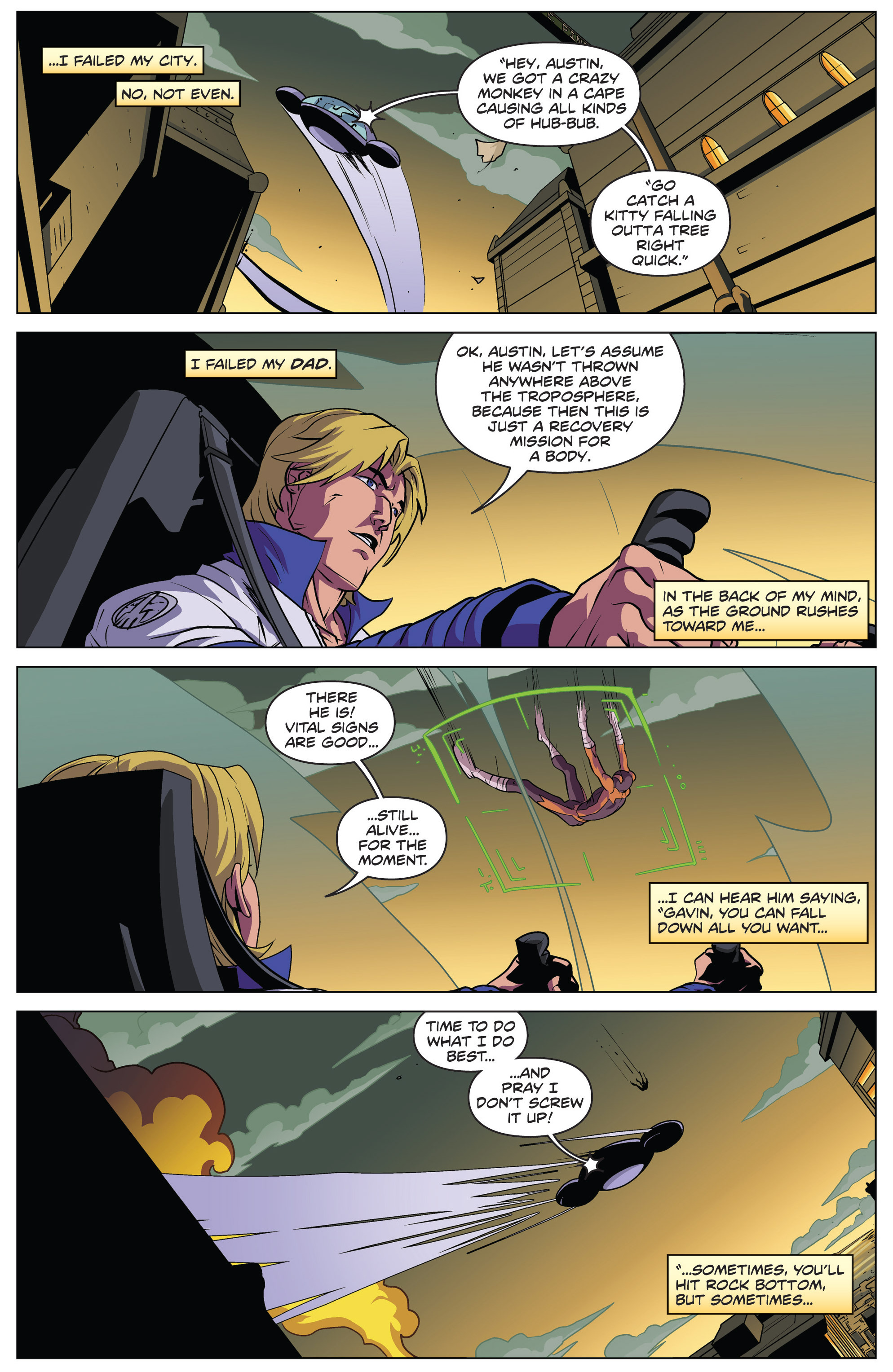 Read online Actionverse comic -  Issue #4 - 13