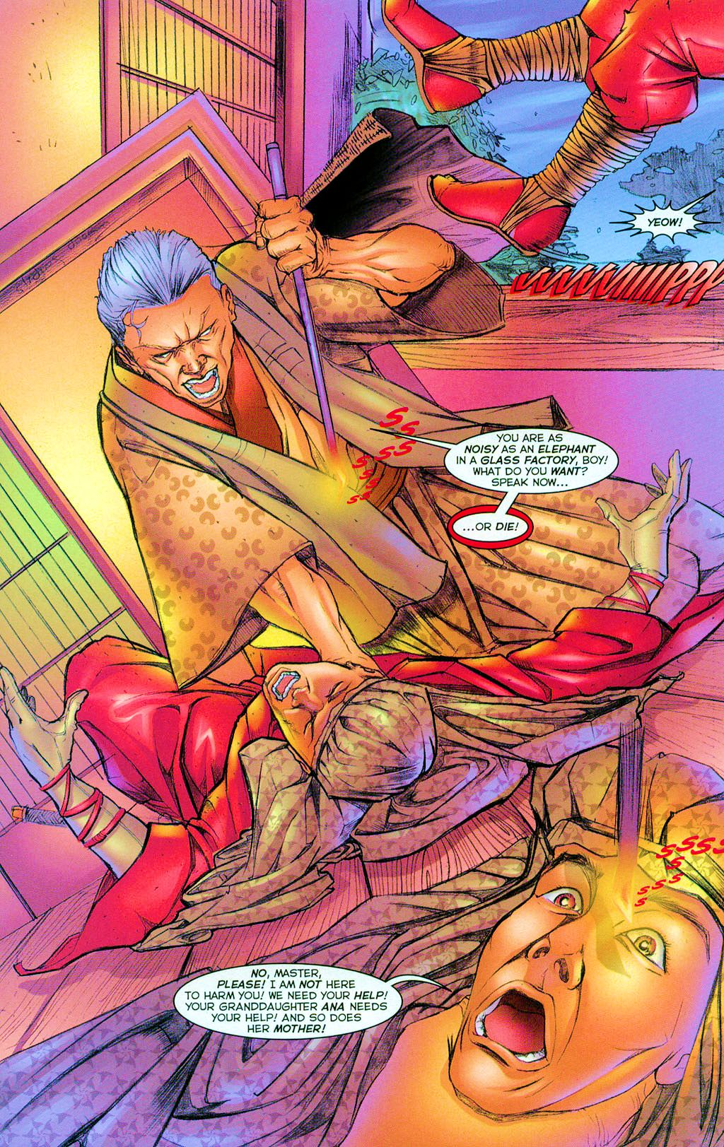Read online Shi: Heaven And Earth comic -  Issue #3 - 5
