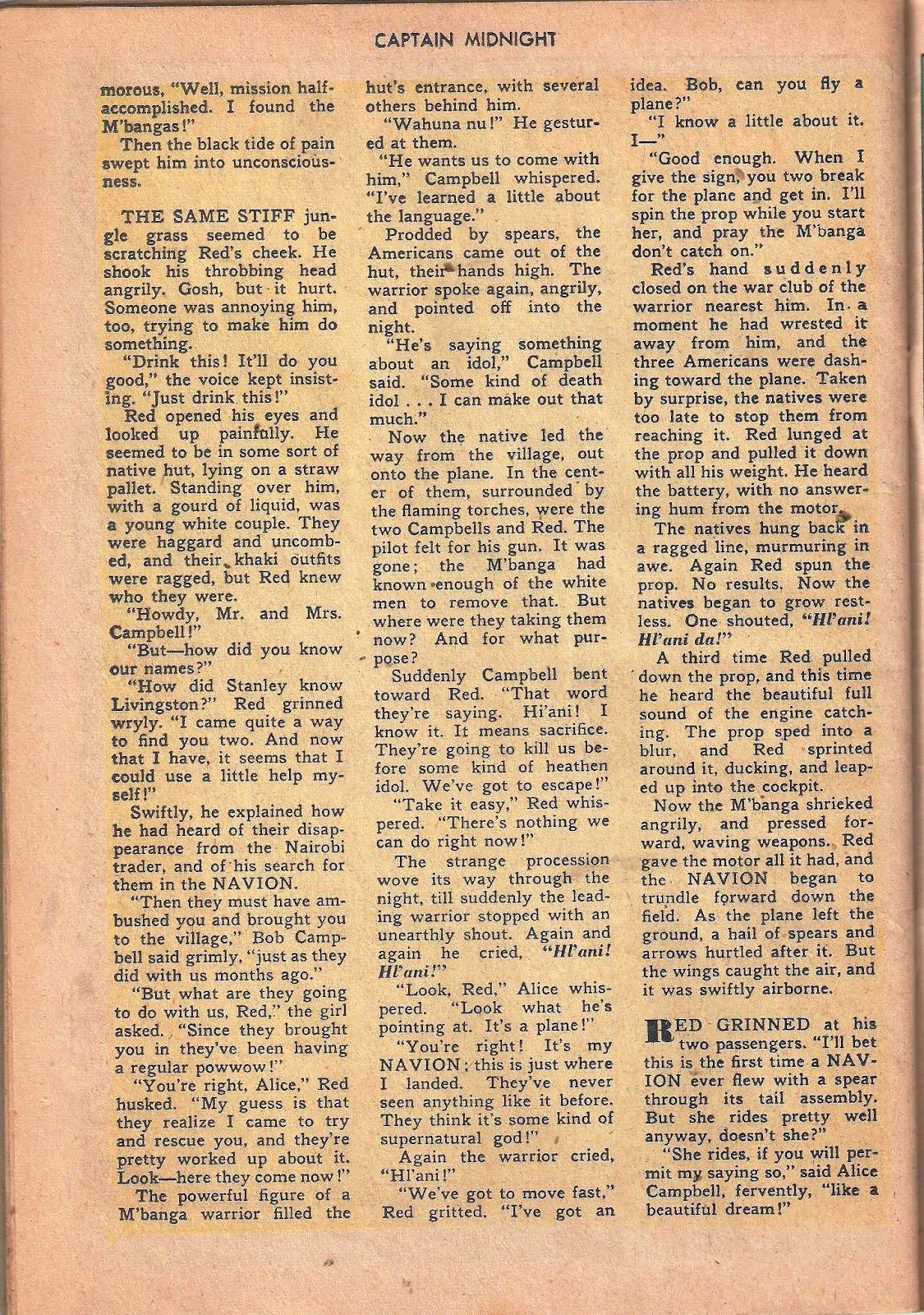Captain Midnight (1942) issue 53 - Page 40