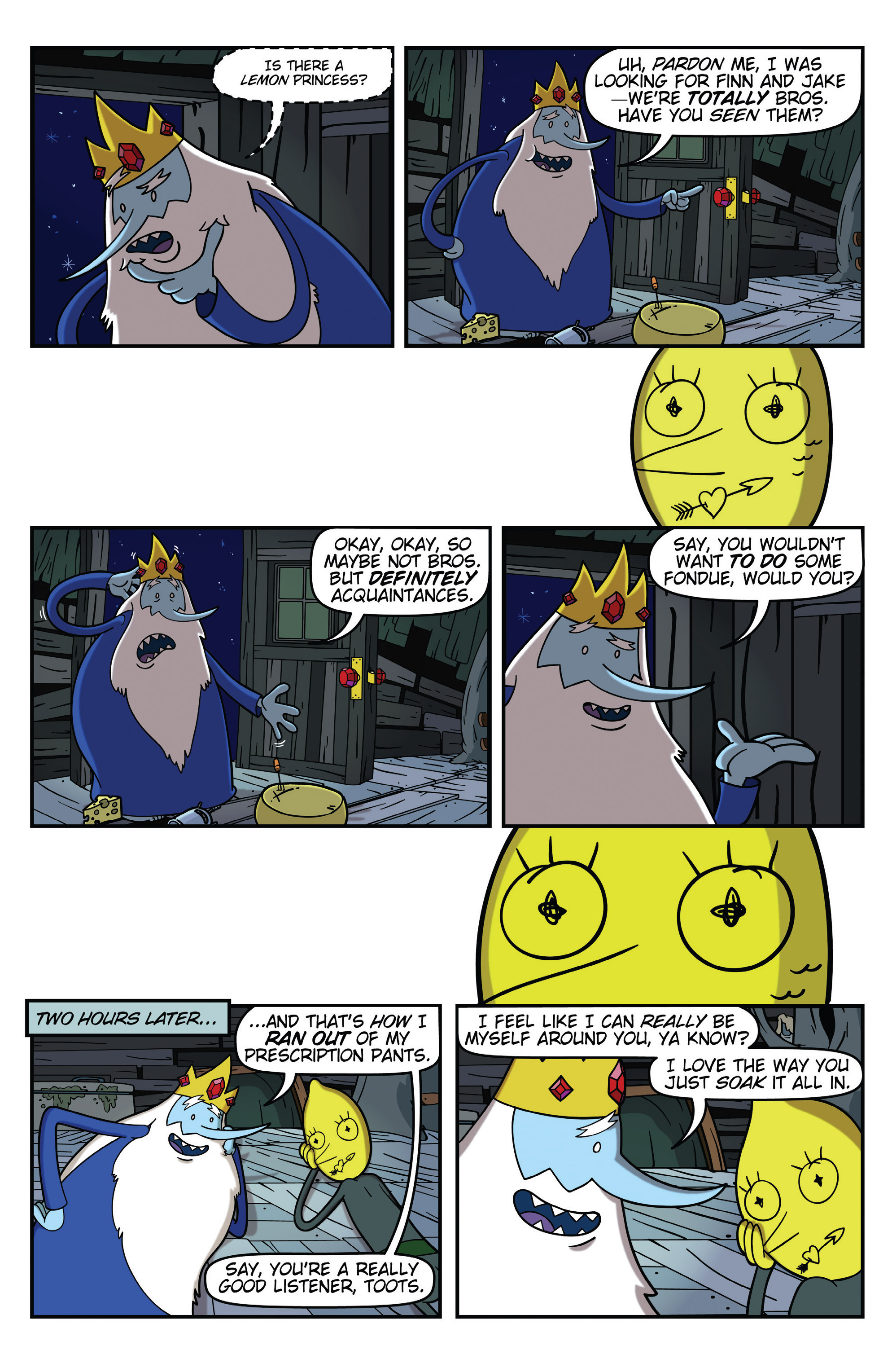 Read online Adventure Time comic -  Issue #31 - 24