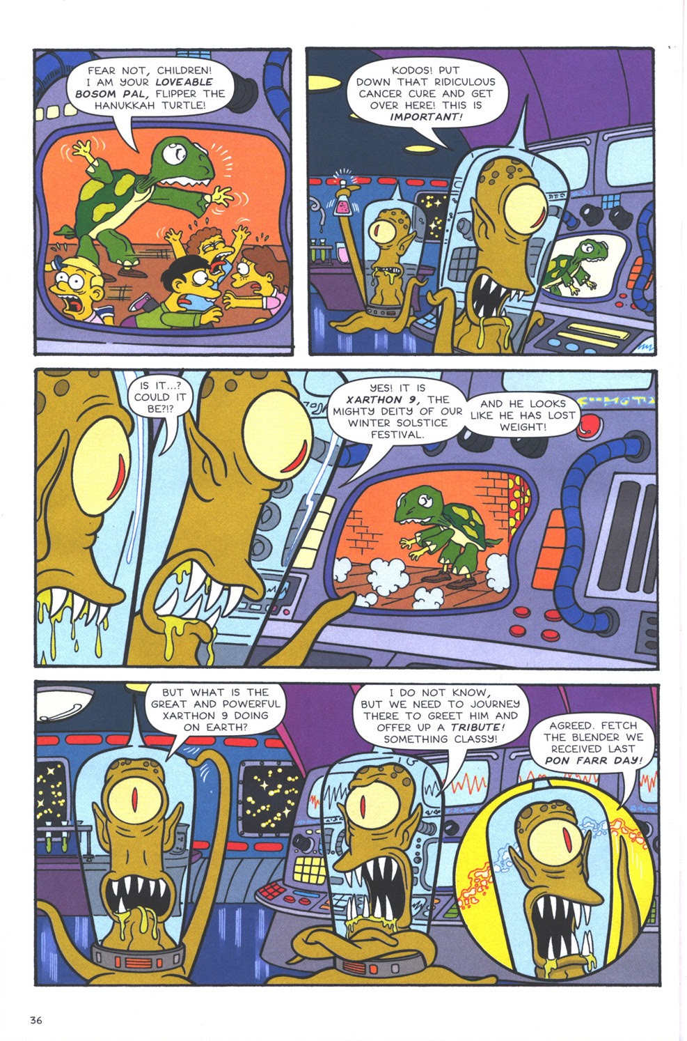 Read online The Simpsons Winter Wingding comic -  Issue #3 - 38