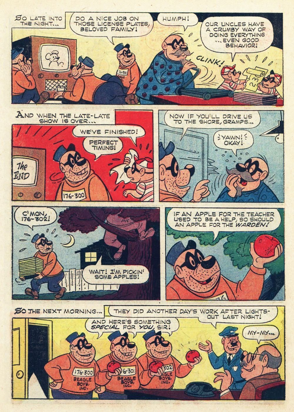 Walt Disney THE BEAGLE BOYS issue 6 - Page 10