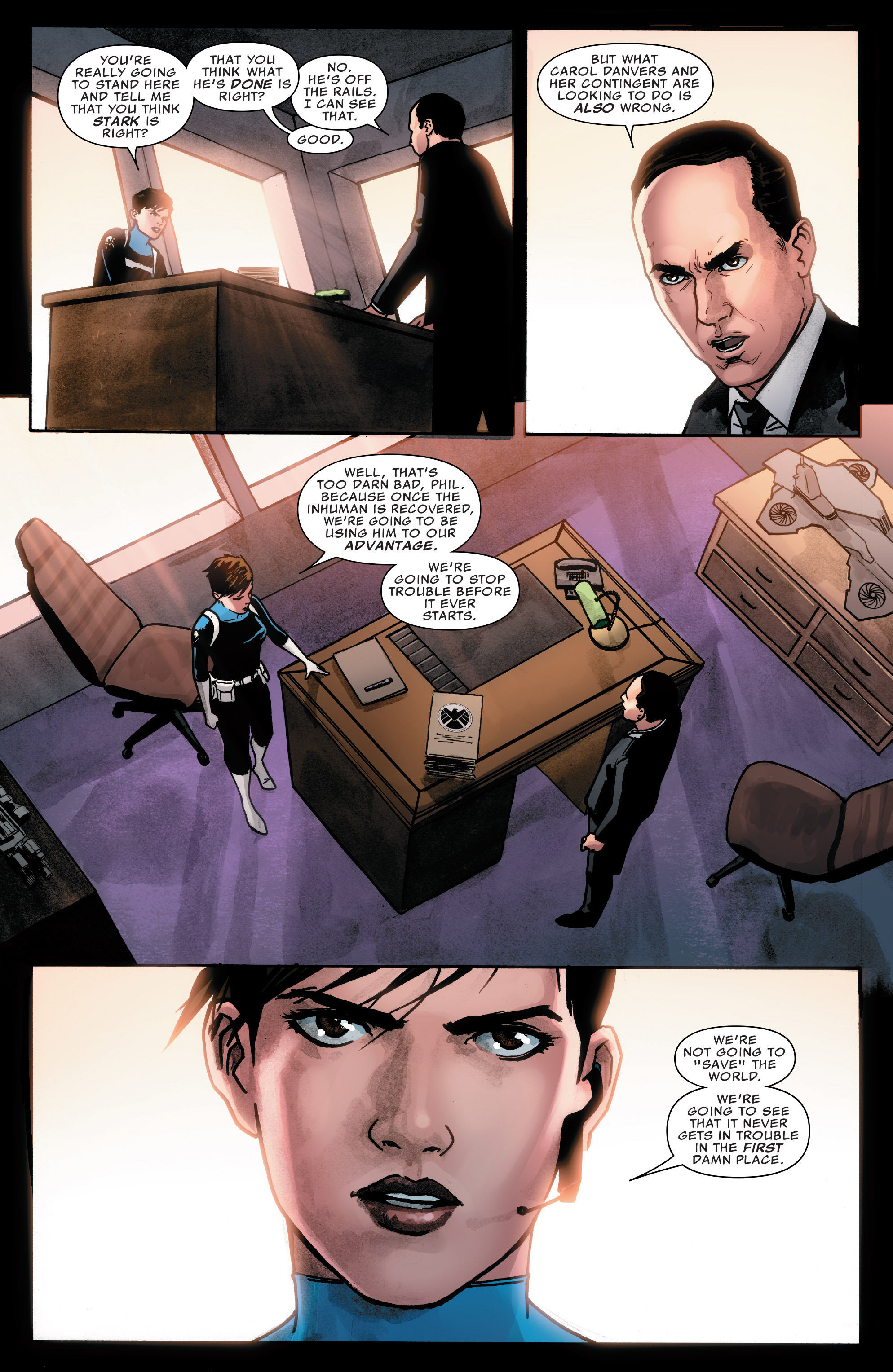Read online Agents of S.H.I.E.L.D. comic -  Issue #7 - 19