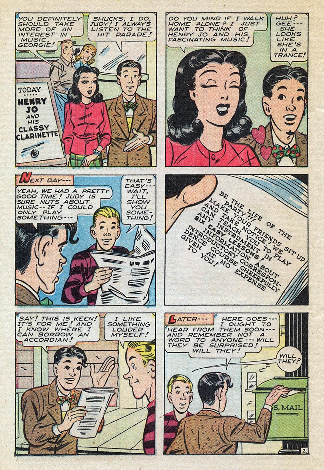 Georgie Comics (1945) issue 4 - Page 36