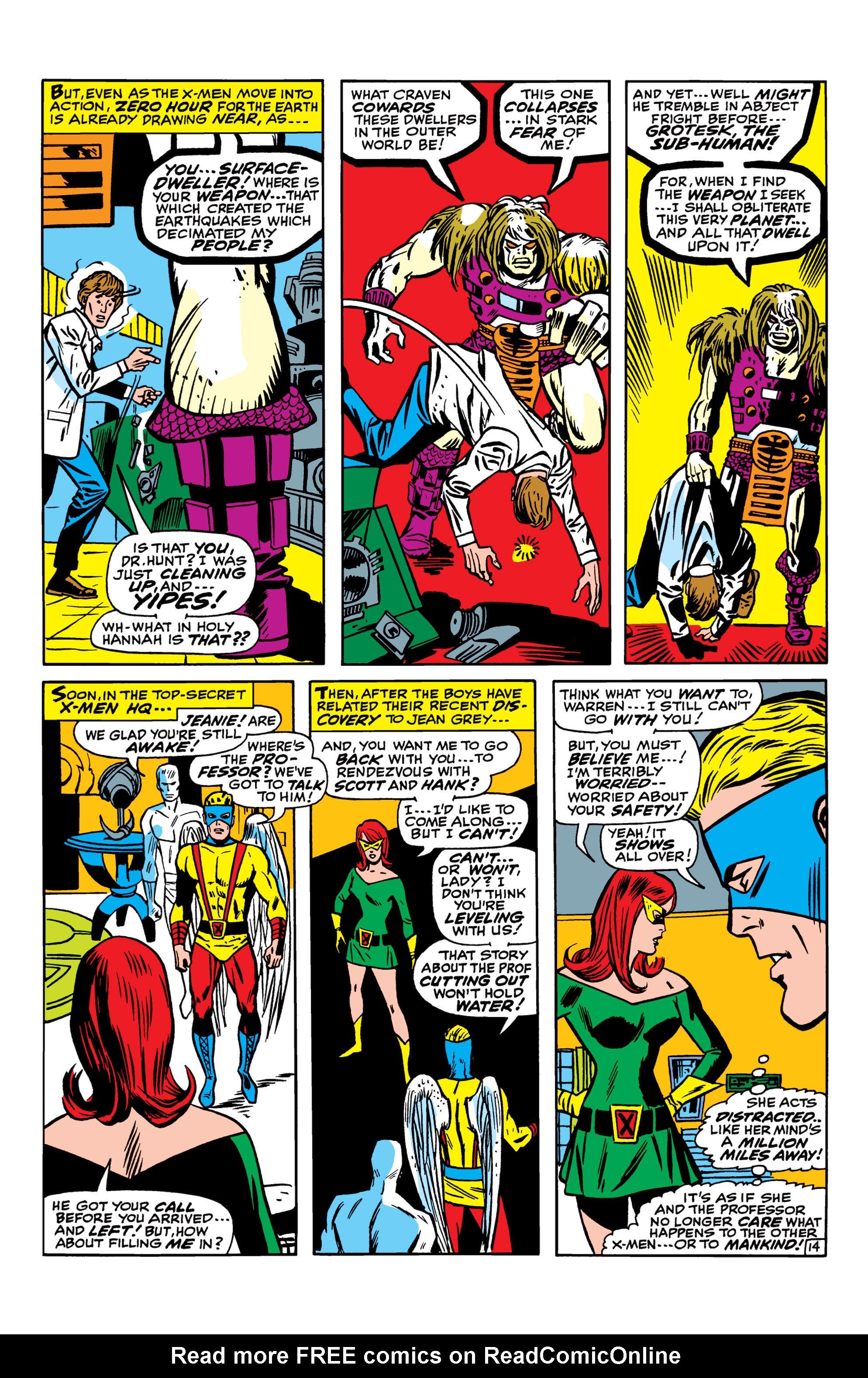 Read online Uncanny X-Men (1963) comic -  Issue #41 - 15