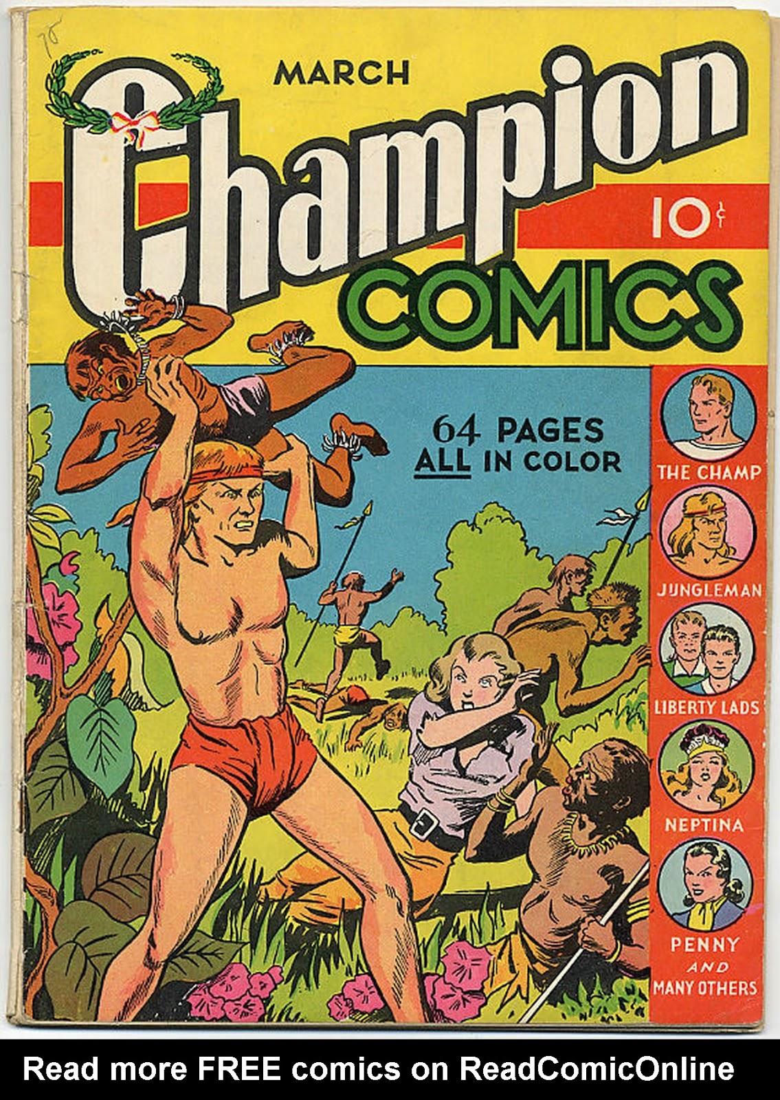 Champion Comics 5 Page 1