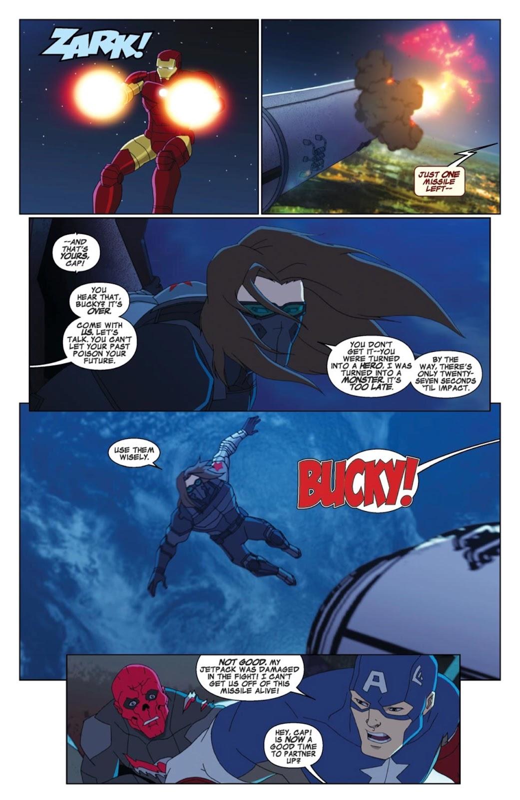 Read online Marvel Universe Avengers Assemble Season 2 comic -  Issue #4 - 20