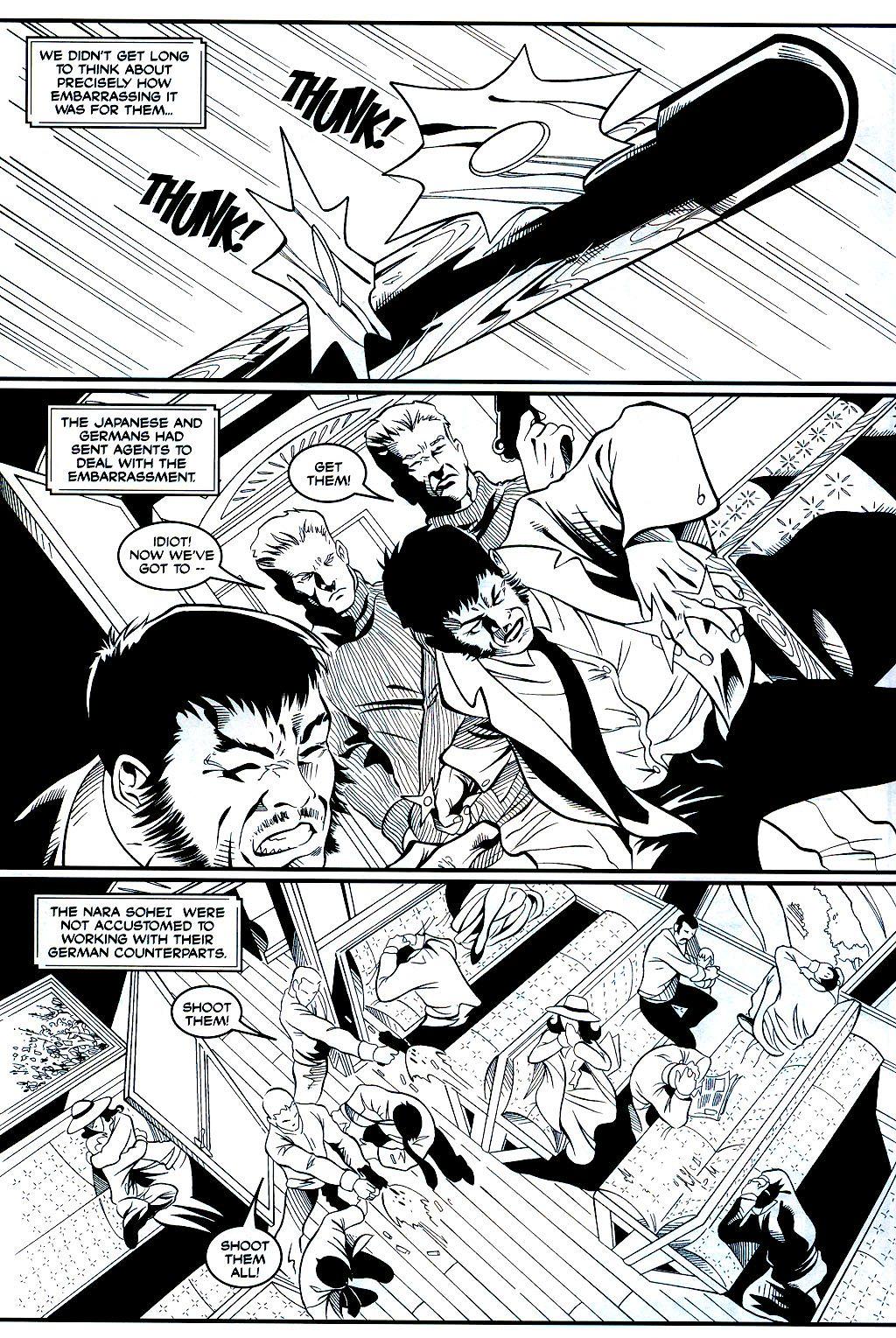 Read online Shi: Sempo comic -  Issue #1 - 4