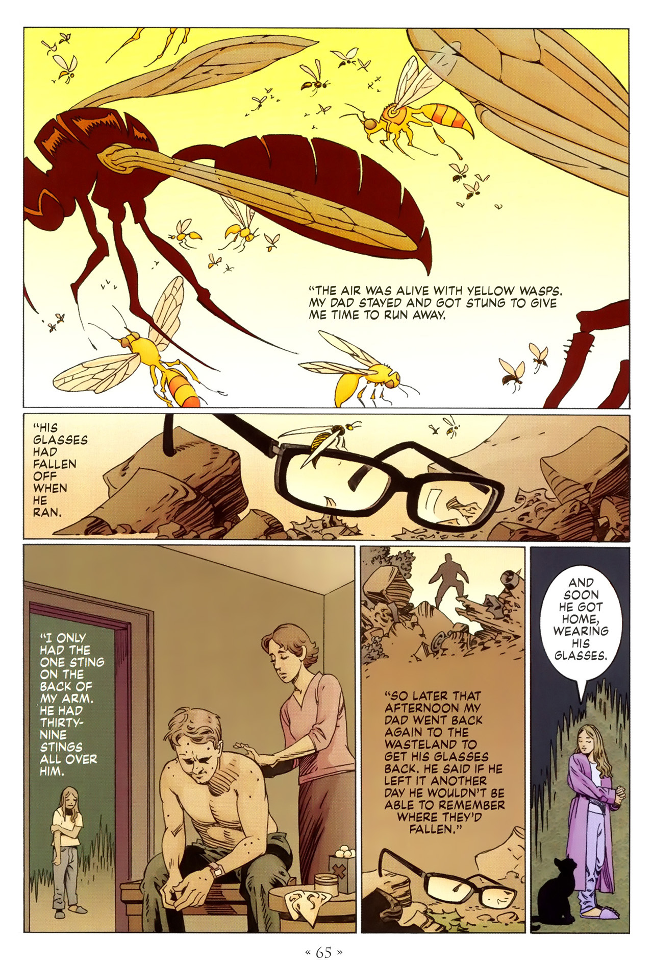 Read online Coraline comic -  Issue #1 - 71