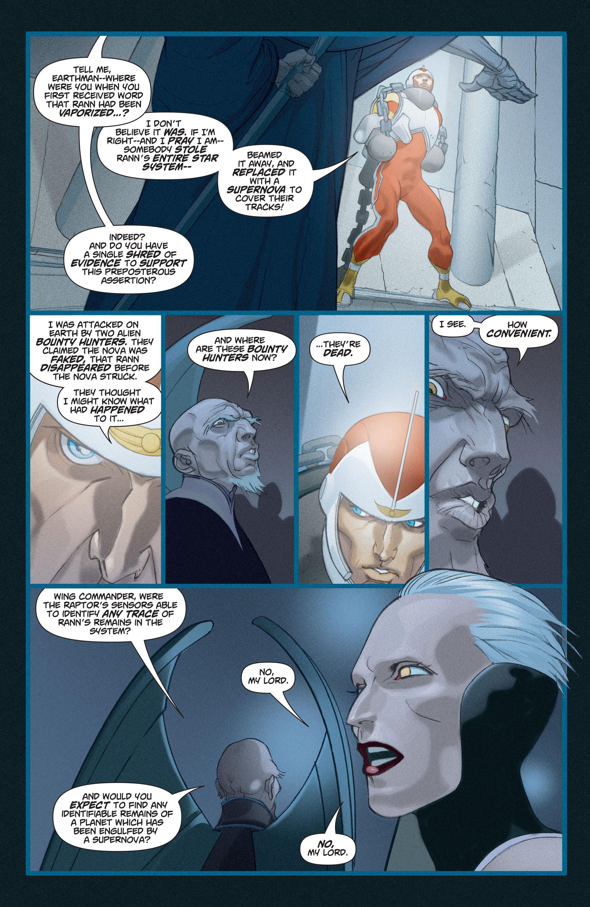 Read online Adam Strange (2004) comic -  Issue #3 - 18