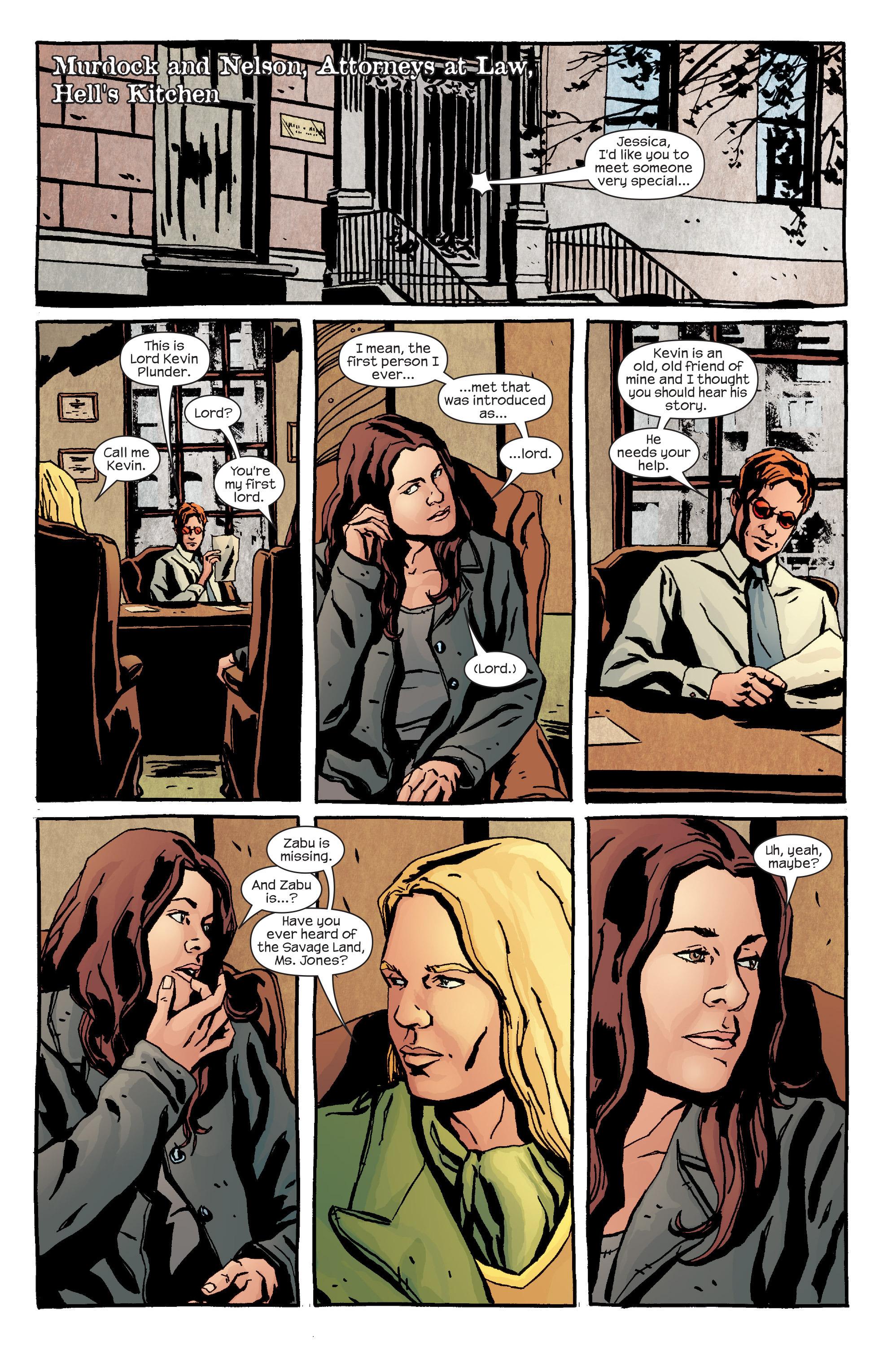 Read online Alias comic -  Issue #24 - 3