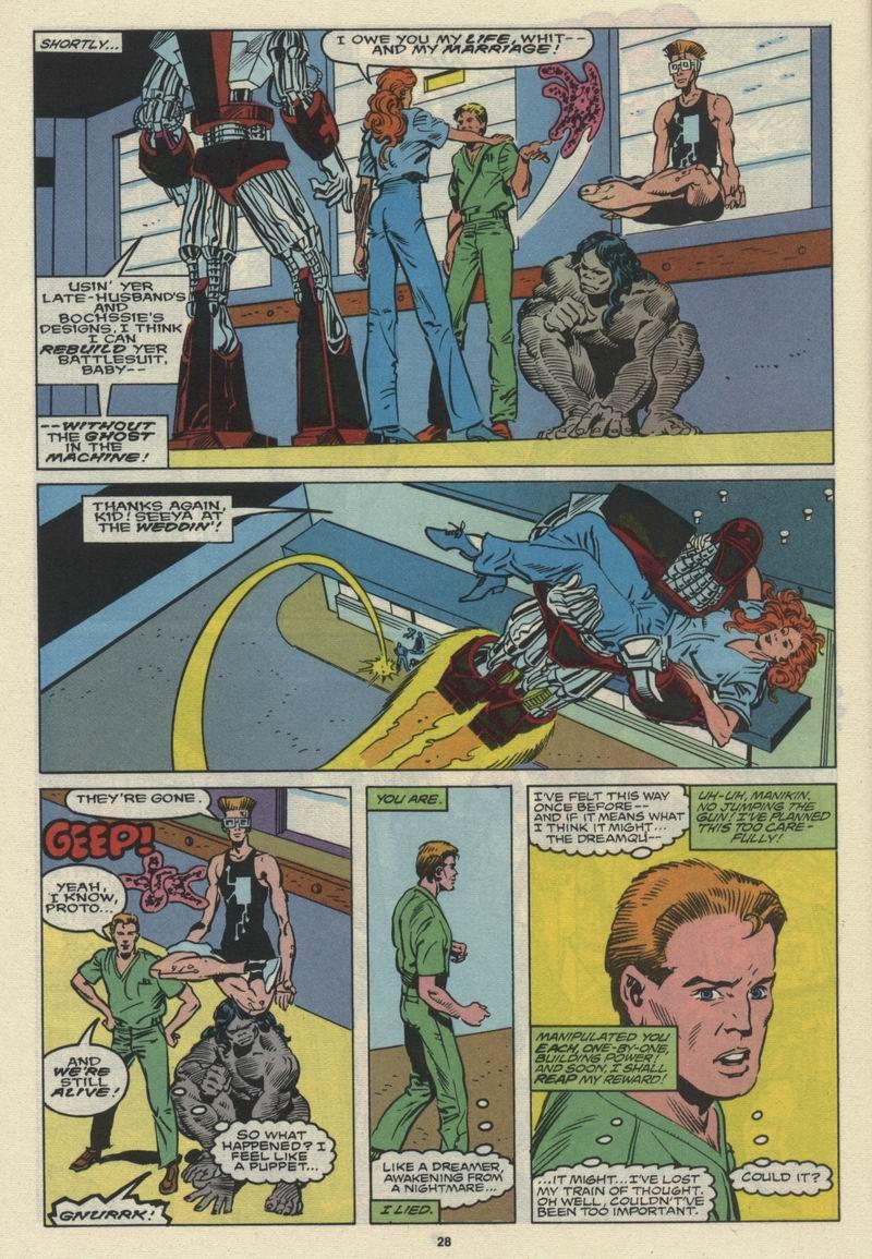 Read online Alpha Flight (1983) comic -  Issue #66 - 29