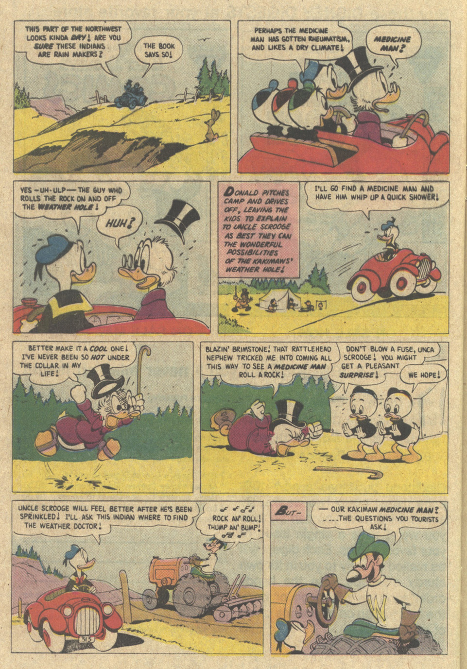 Read online Uncle Scrooge (1953) comic -  Issue #220 - 28