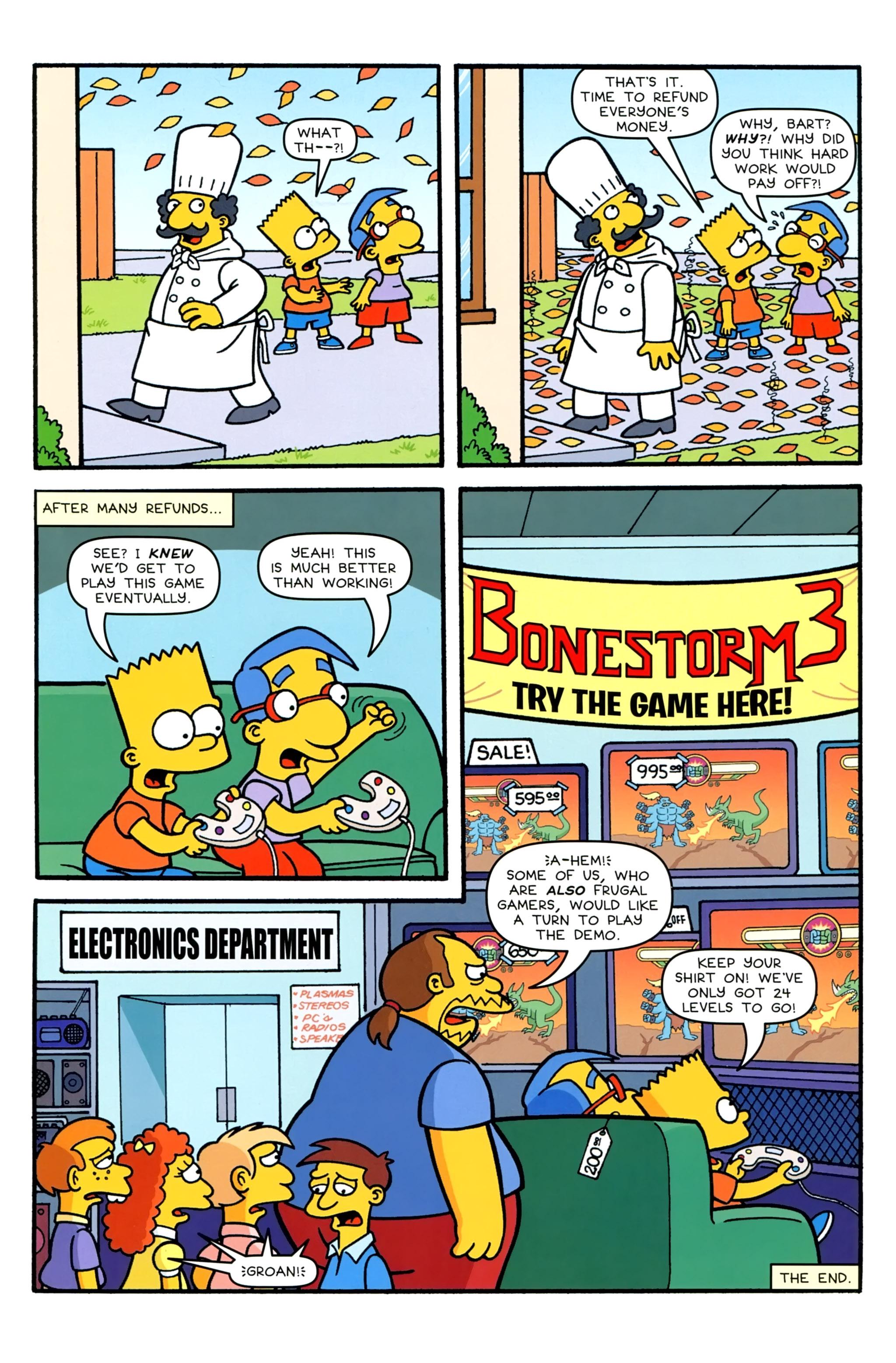 Read online Simpsons Comics comic -  Issue #231 - 11