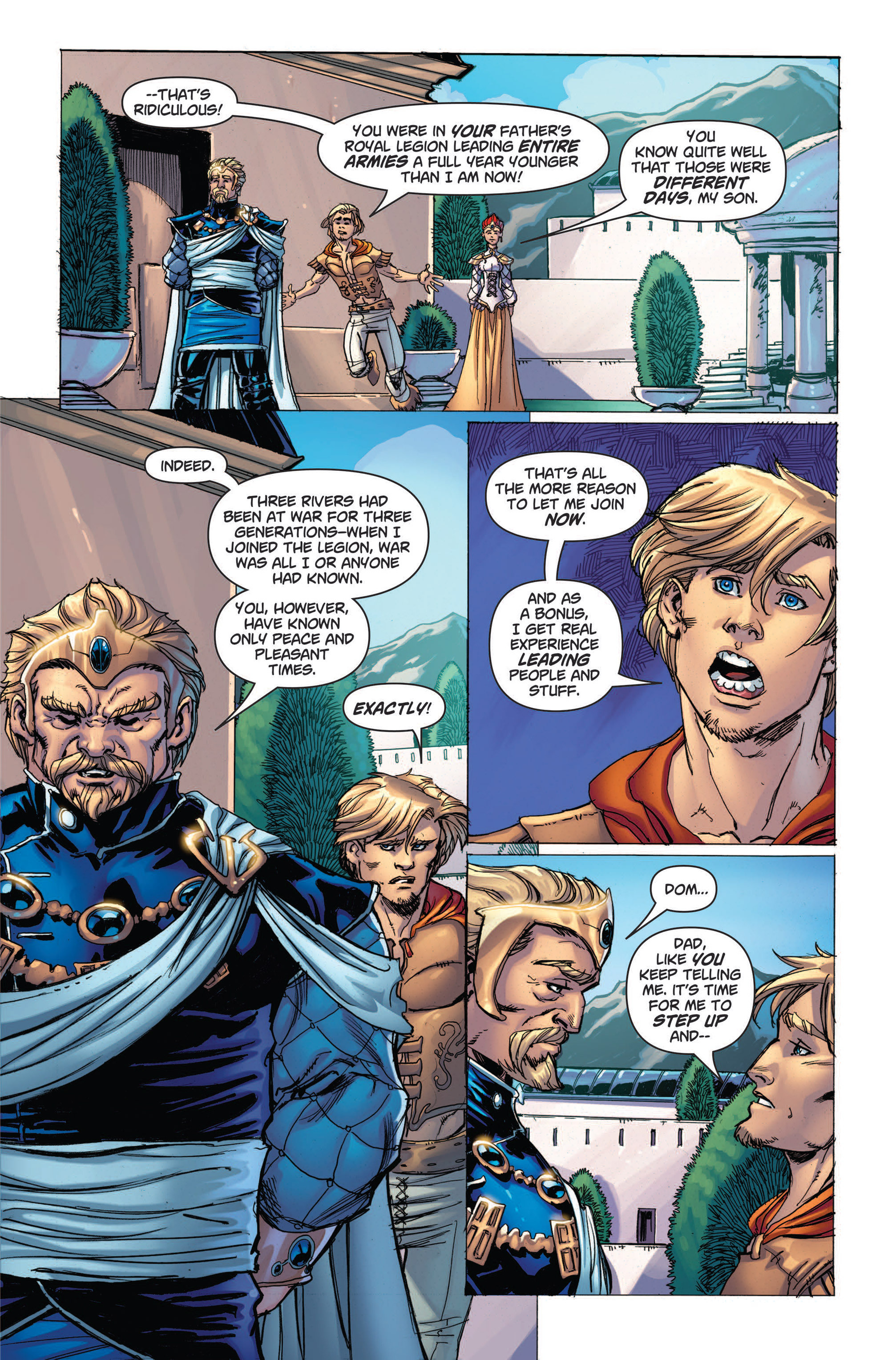 Read online Skyward comic -  Issue #4 - 4