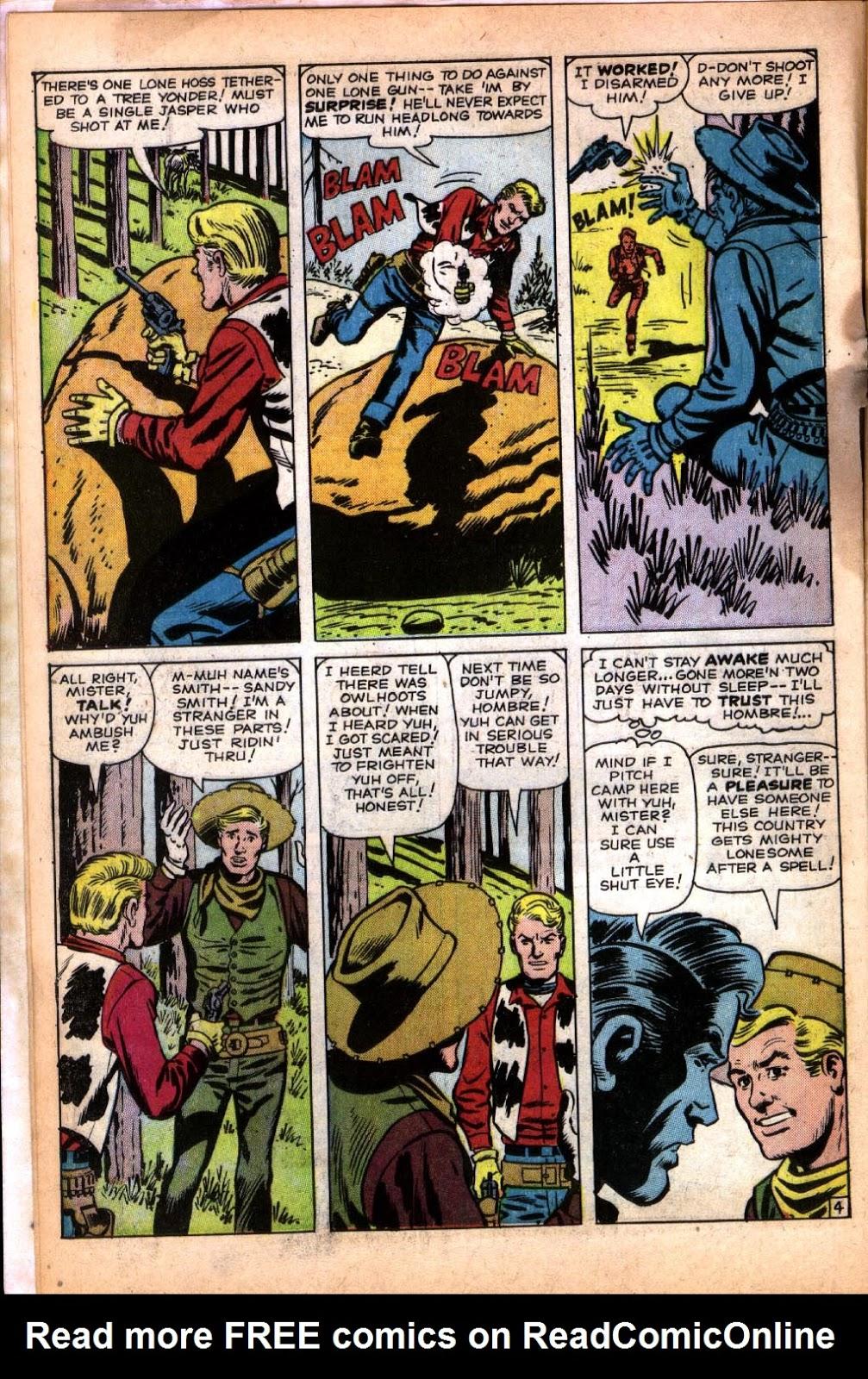 Gunsmoke Western issue 64 - Page 6
