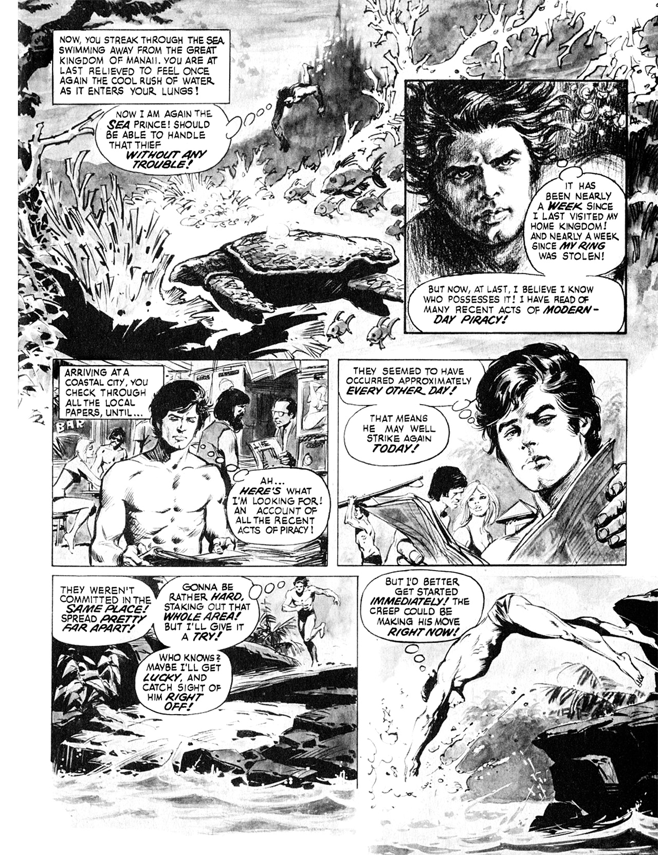 Read online Eerie Archives comic -  Issue # TPB 8 - 202