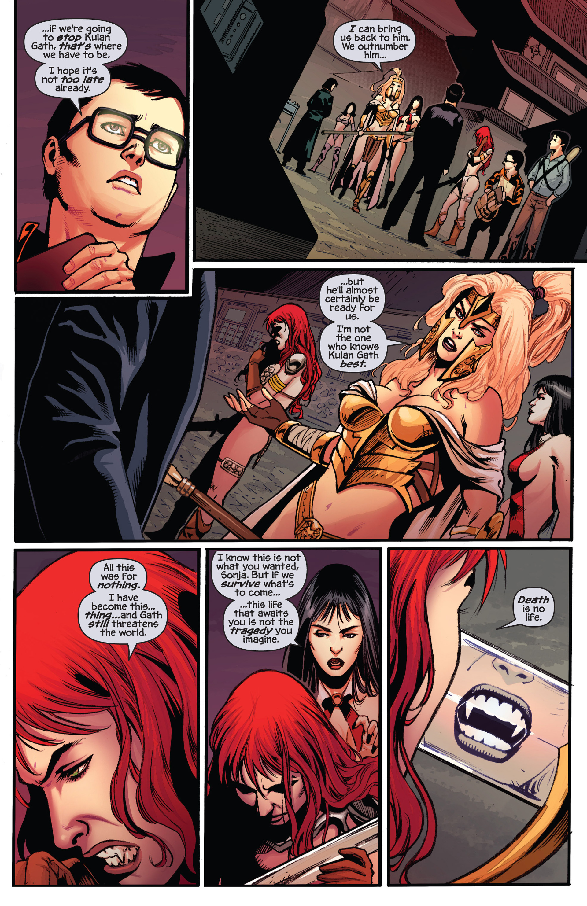 Read online Prophecy comic -  Issue #6 - 9