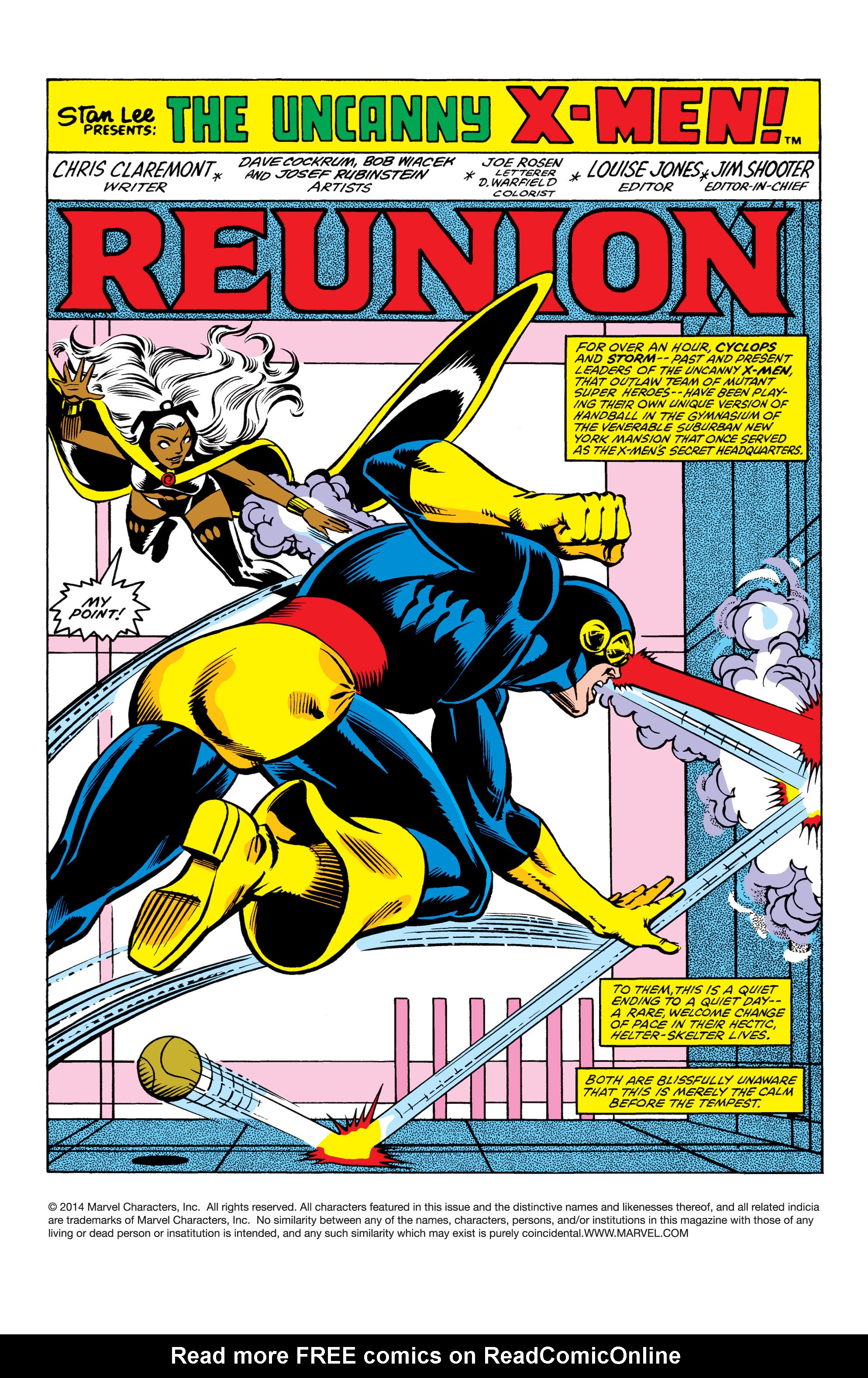 Read online Uncanny X-Men (1963) comic -  Issue #154 - 2