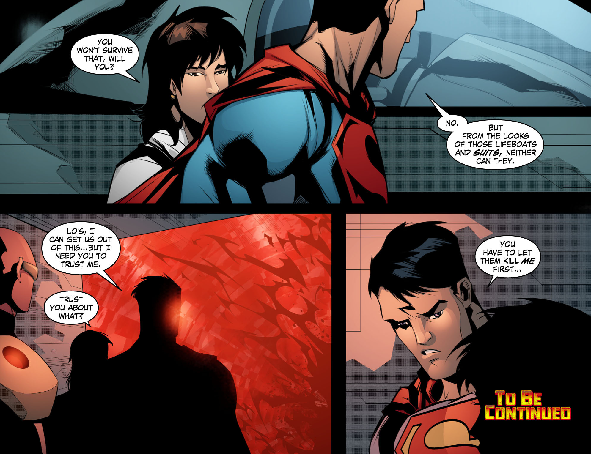 Read online Smallville: Chaos [II] comic -  Issue #10 - 22