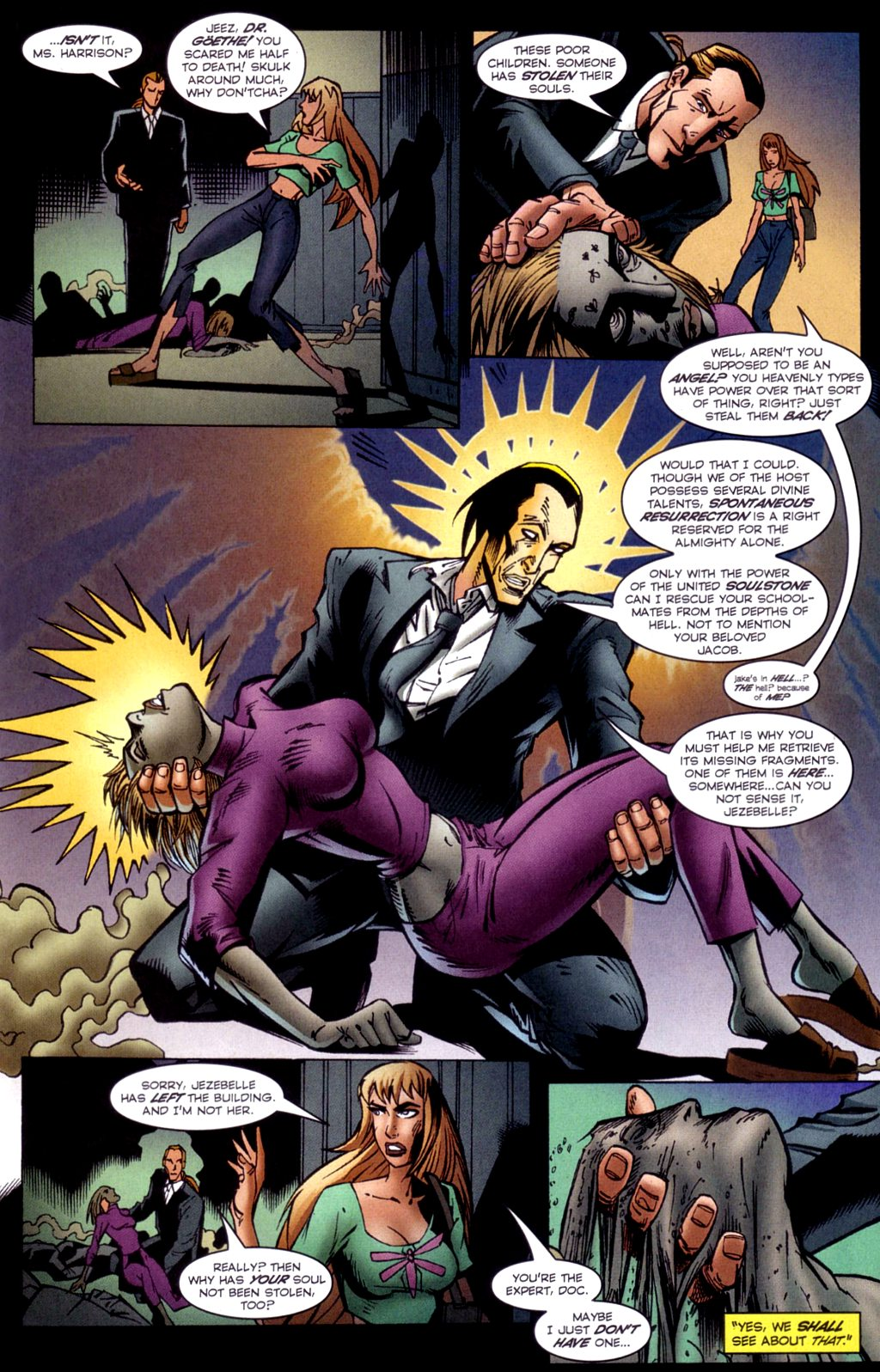 Read online Jezebelle comic -  Issue #2 - 16