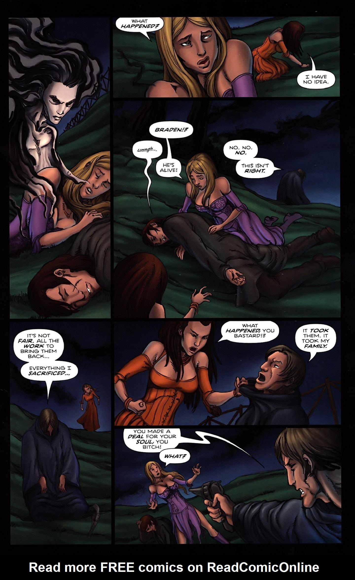 Read online Salem's Daughter: The Haunting comic -  Issue #5 - 25