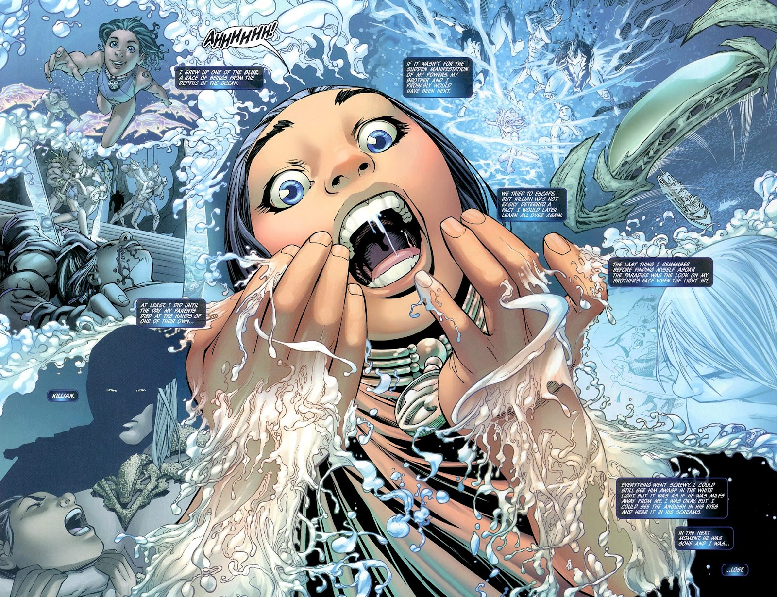 Read online Fathom Beginnings comic -  Issue # Full - 7