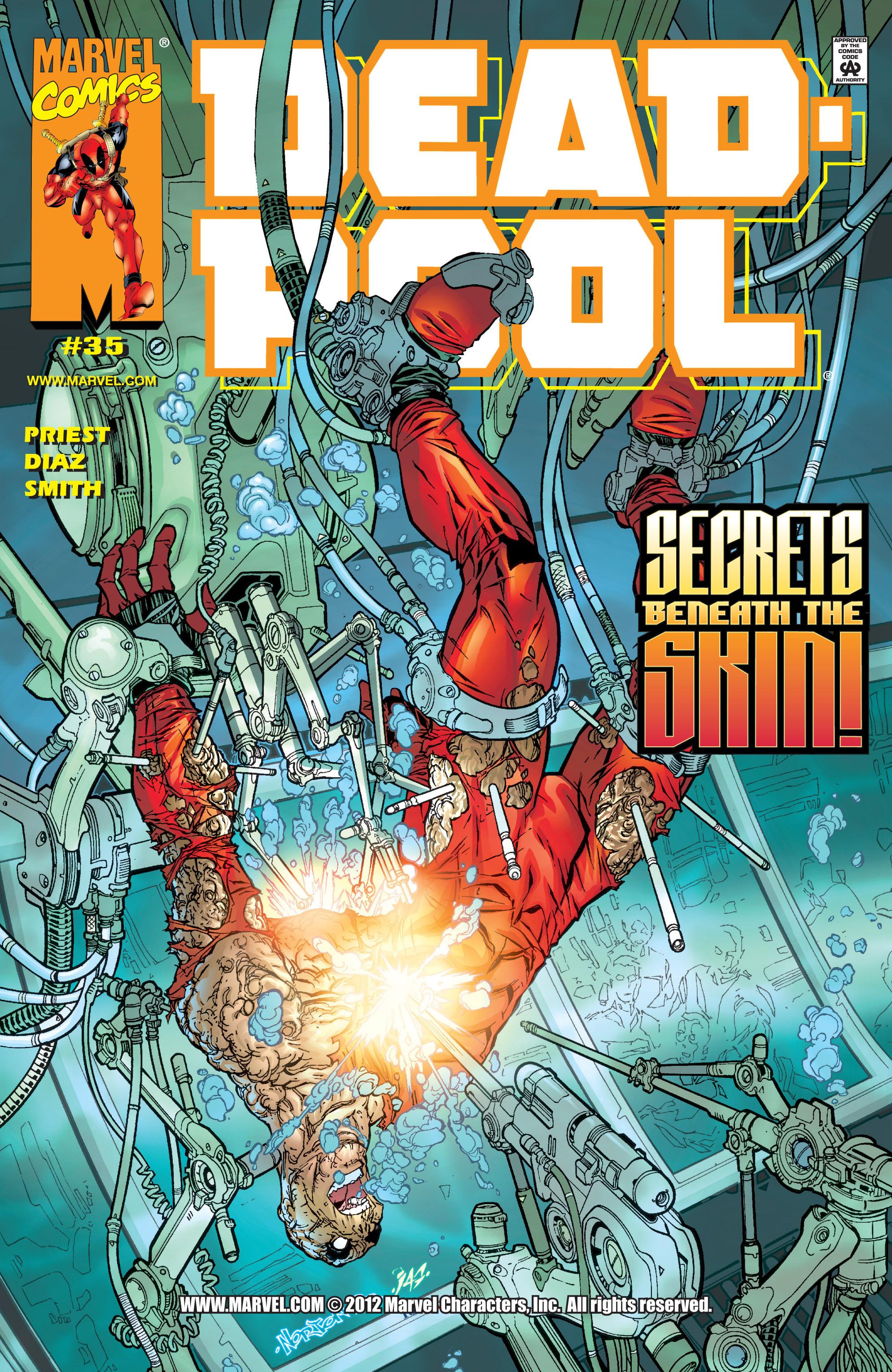 Deadpool (1997) 35 Page 1
