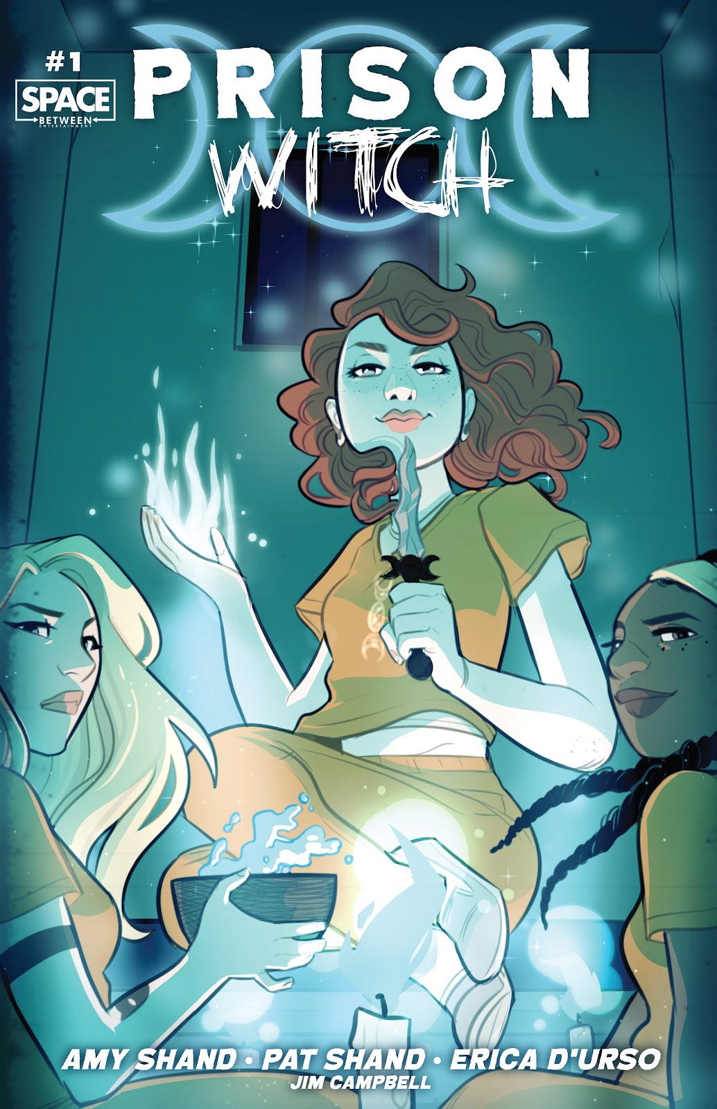 Read online Prison Witch comic -  Issue #1 - 1