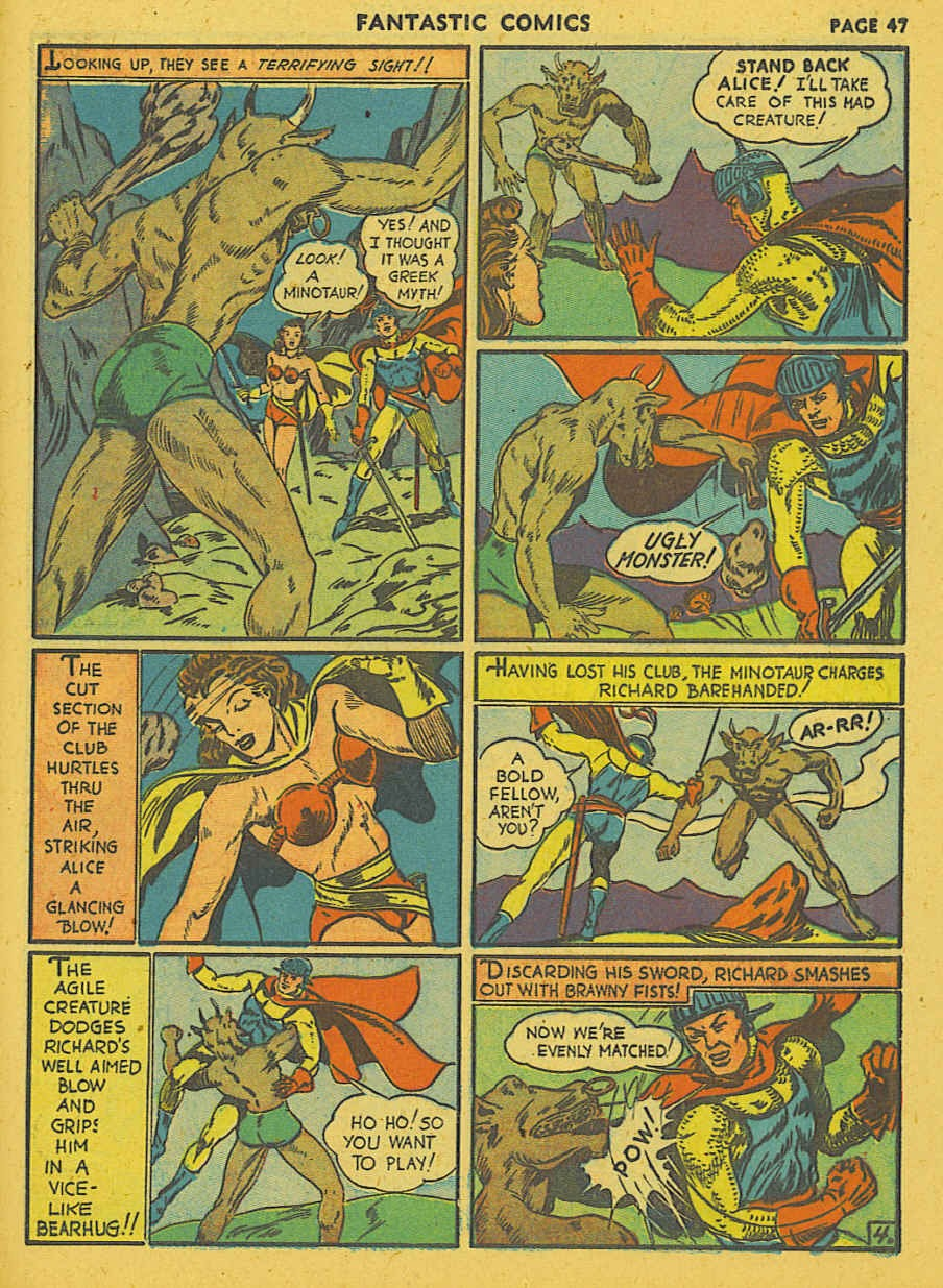 Read online Fantastic Comics comic -  Issue #19 - 38