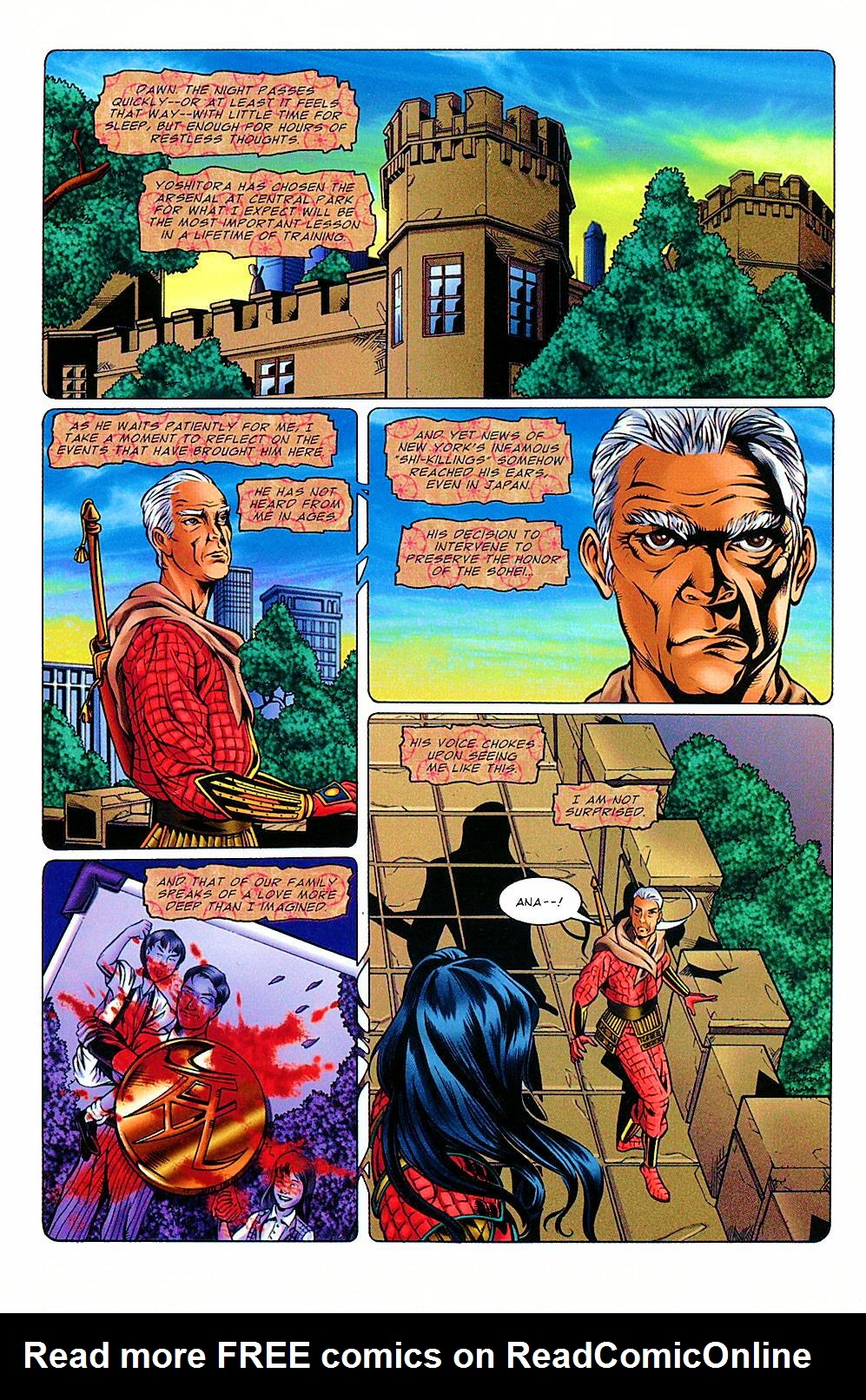 Read online Shi: The Way of the Warrior comic -  Issue #8 - 5