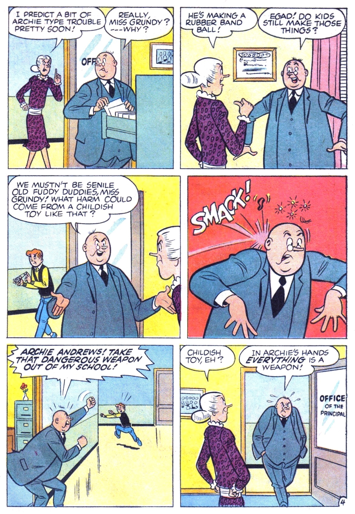 Read online Archie (1960) comic -  Issue #147 - 31