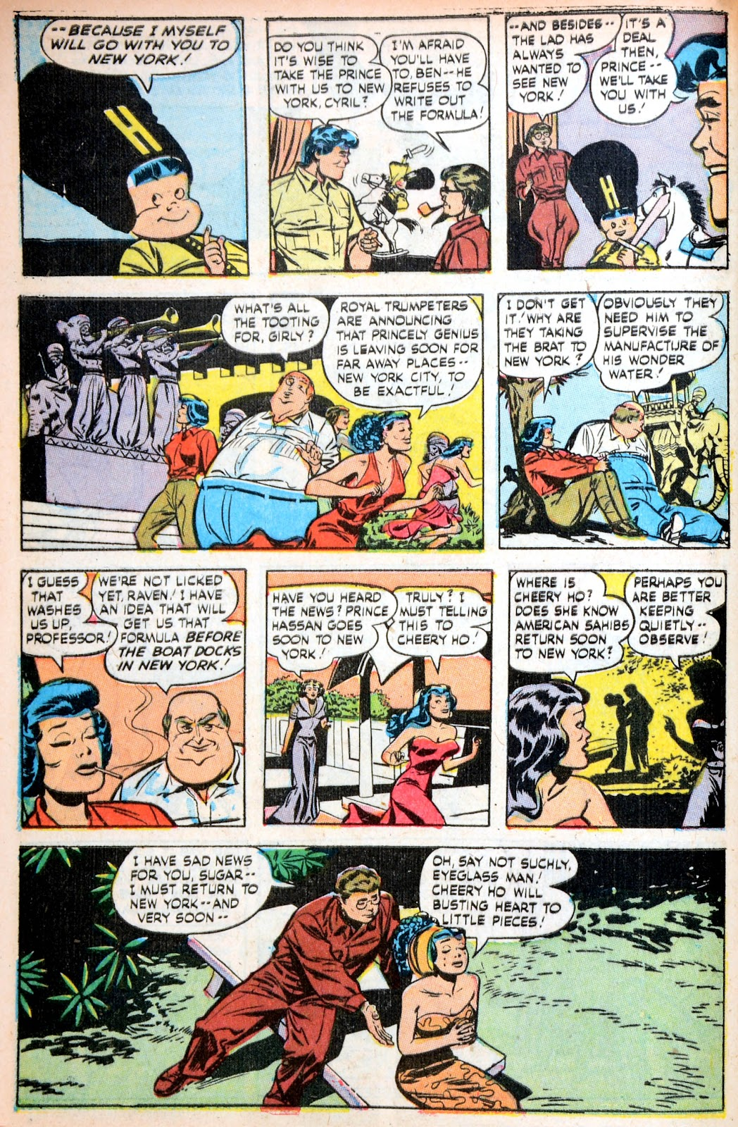 Read online Famous Funnies comic -  Issue #195 - 40