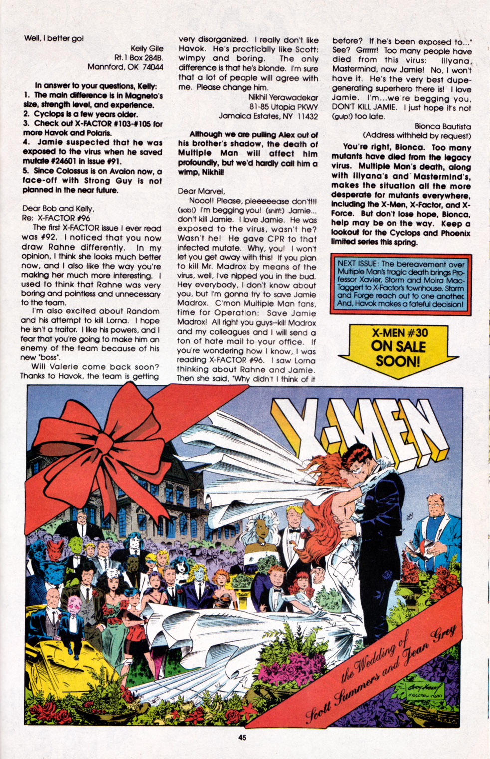 Read online X-Factor (1986) comic -  Issue #100 - 38