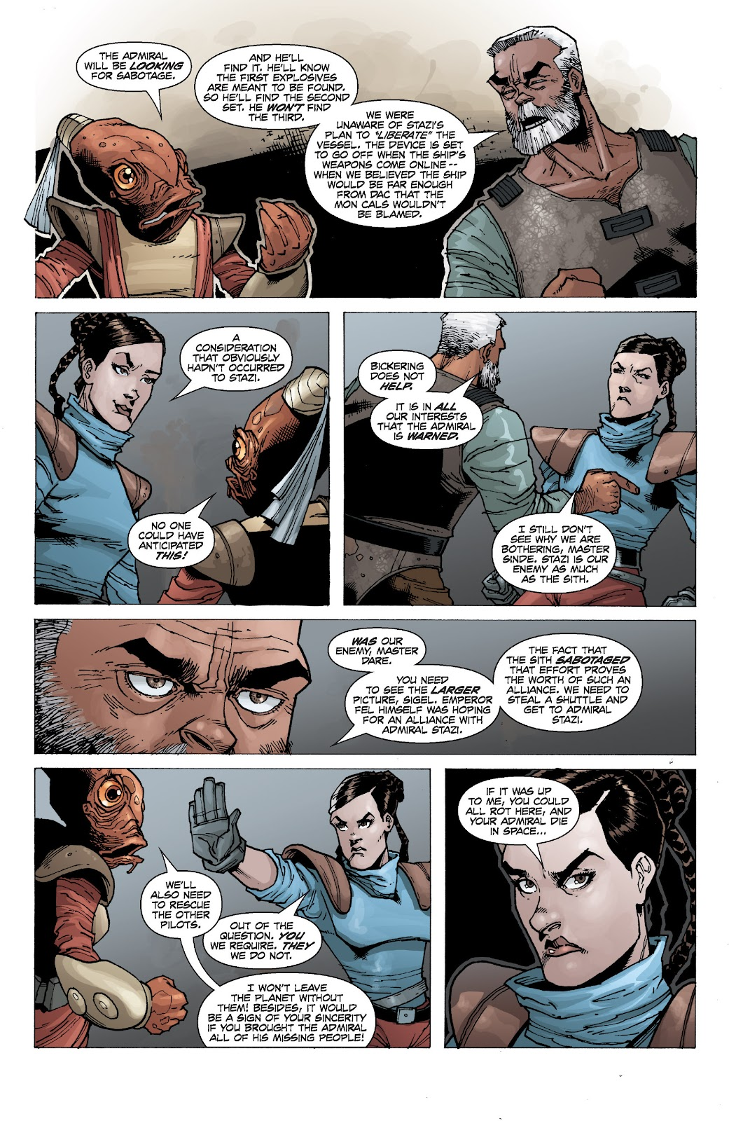 Read online Star Wars Legends: Legacy - Epic Collection comic -  Issue # TPB 2 (Part 1) - 87