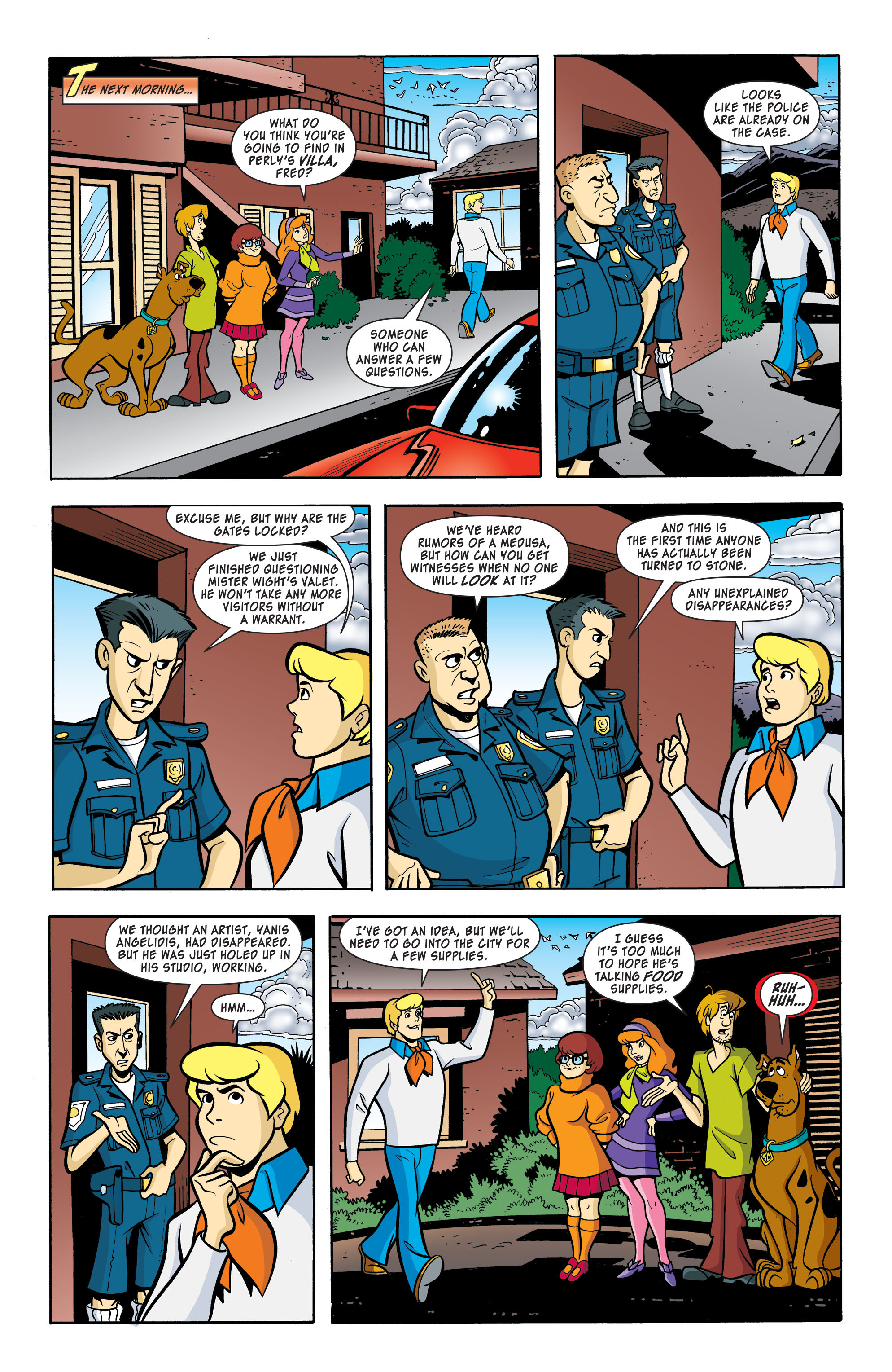 Read online Scooby-Doo: Where Are You? comic -  Issue #59 - 7