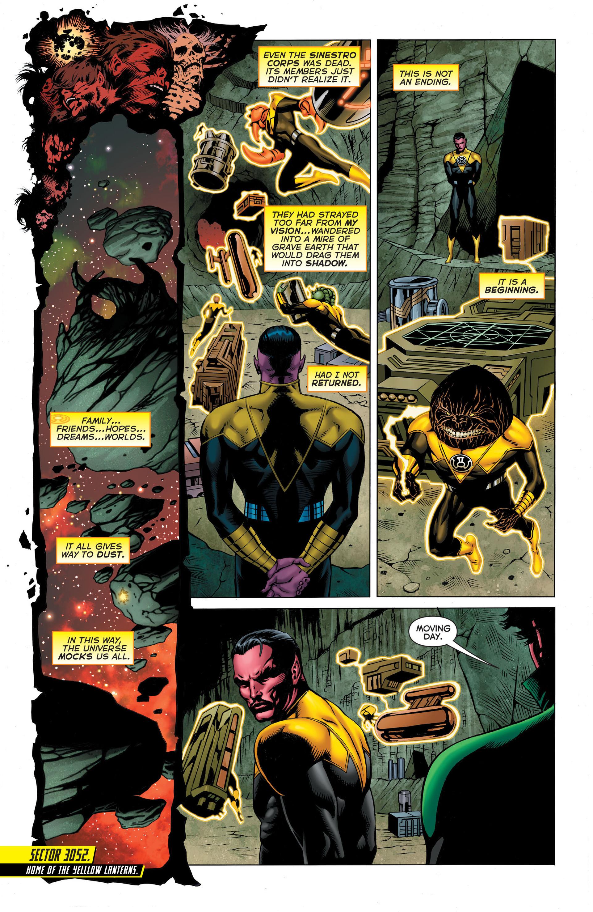 Read online Sinestro comic -  Issue #3 - 4