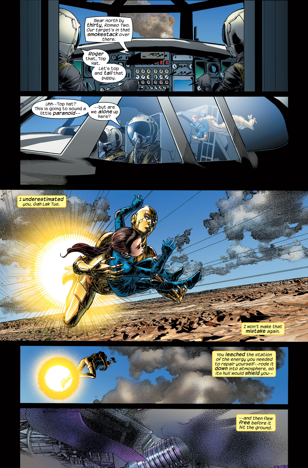 Read online Ultimate Vision comic -  Issue #3 - 24