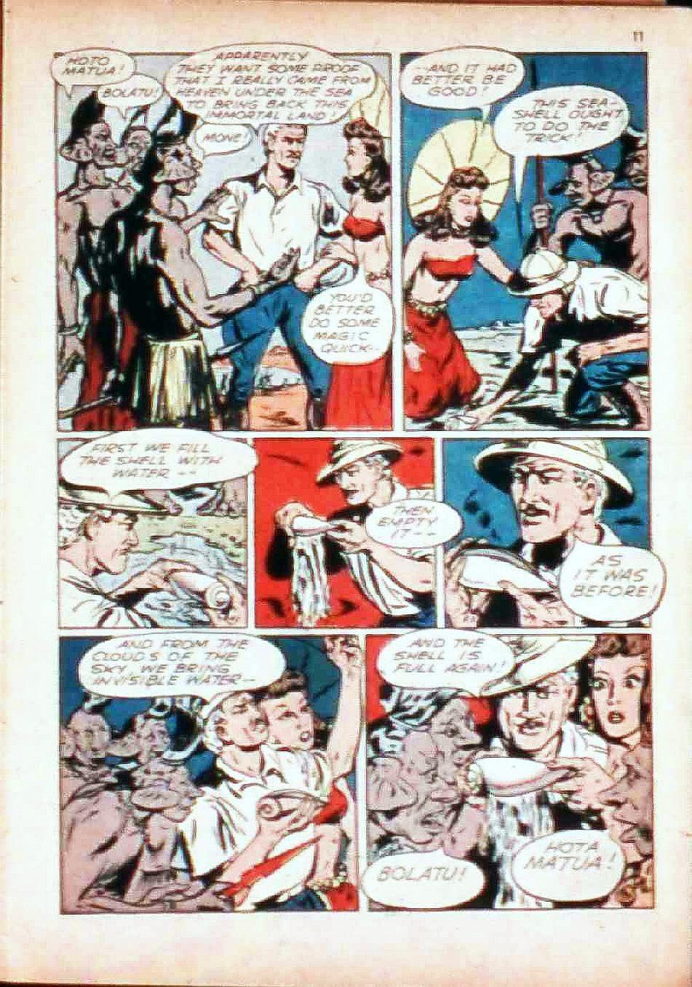 Read online Super-Magician Comics comic -  Issue #17 - 11