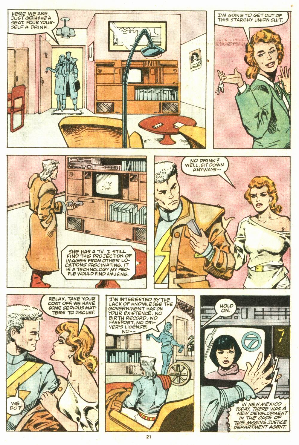 Read online Justice (1986) comic -  Issue #8 - 22
