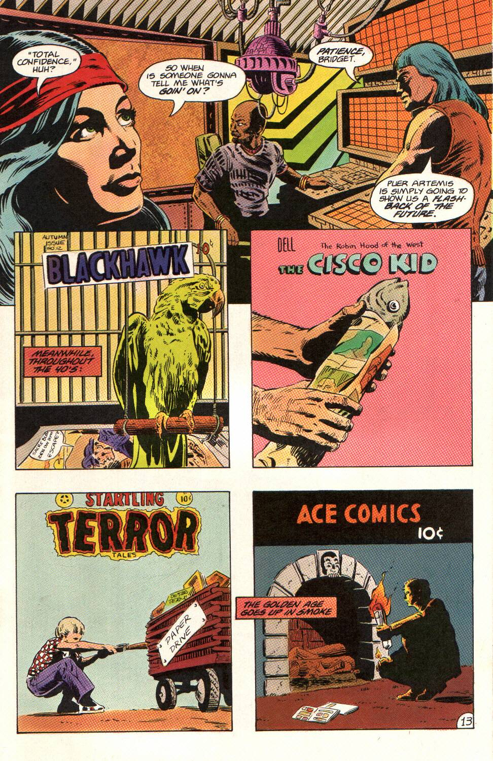 Read online Aztec Ace comic -  Issue #12 - 14