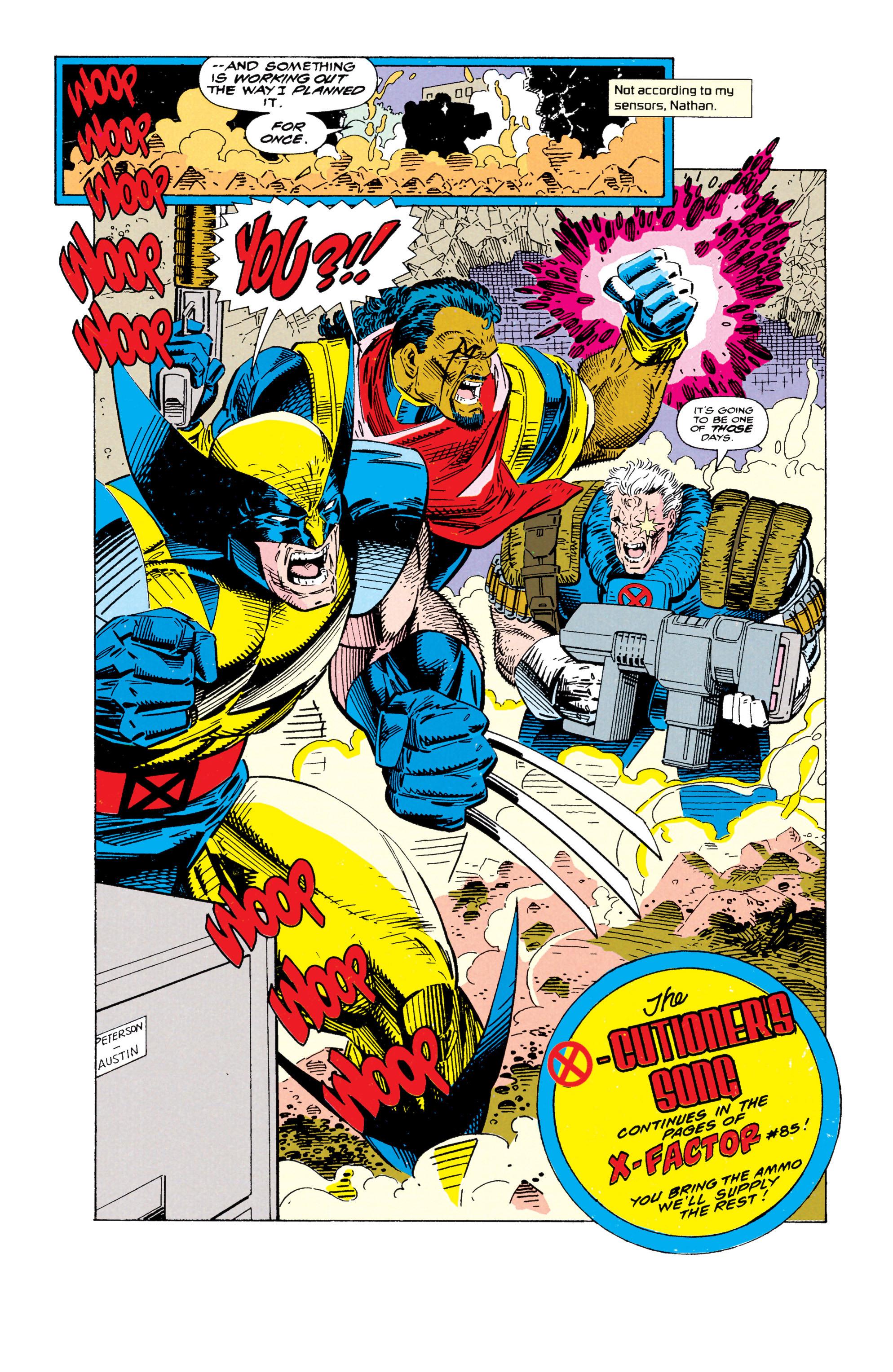 Read online Uncanny X-Men (1963) comic -  Issue #295 - 24