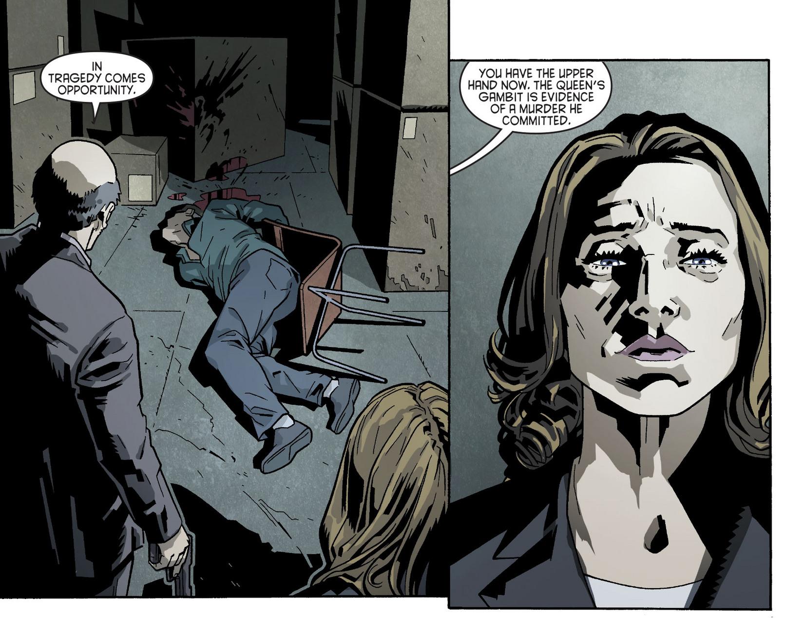 Read online Arrow [II] comic -  Issue #5 - 21