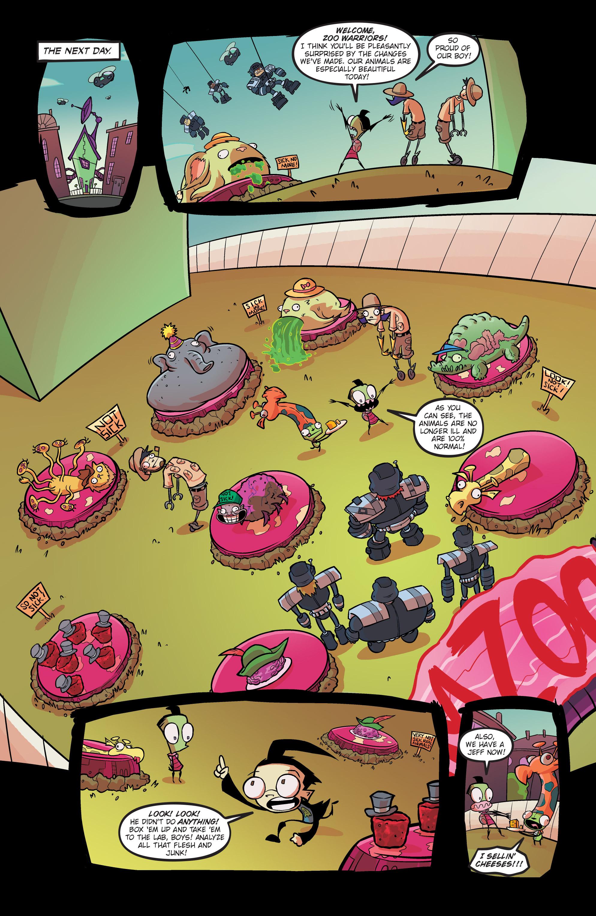 Read online Invader Zim comic -  Issue #19 - 21