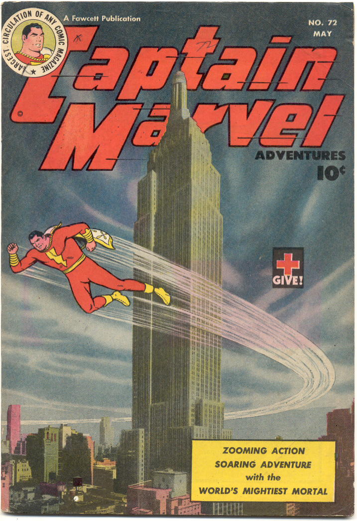 Captain Marvel Adventures issue 72 - Page 1