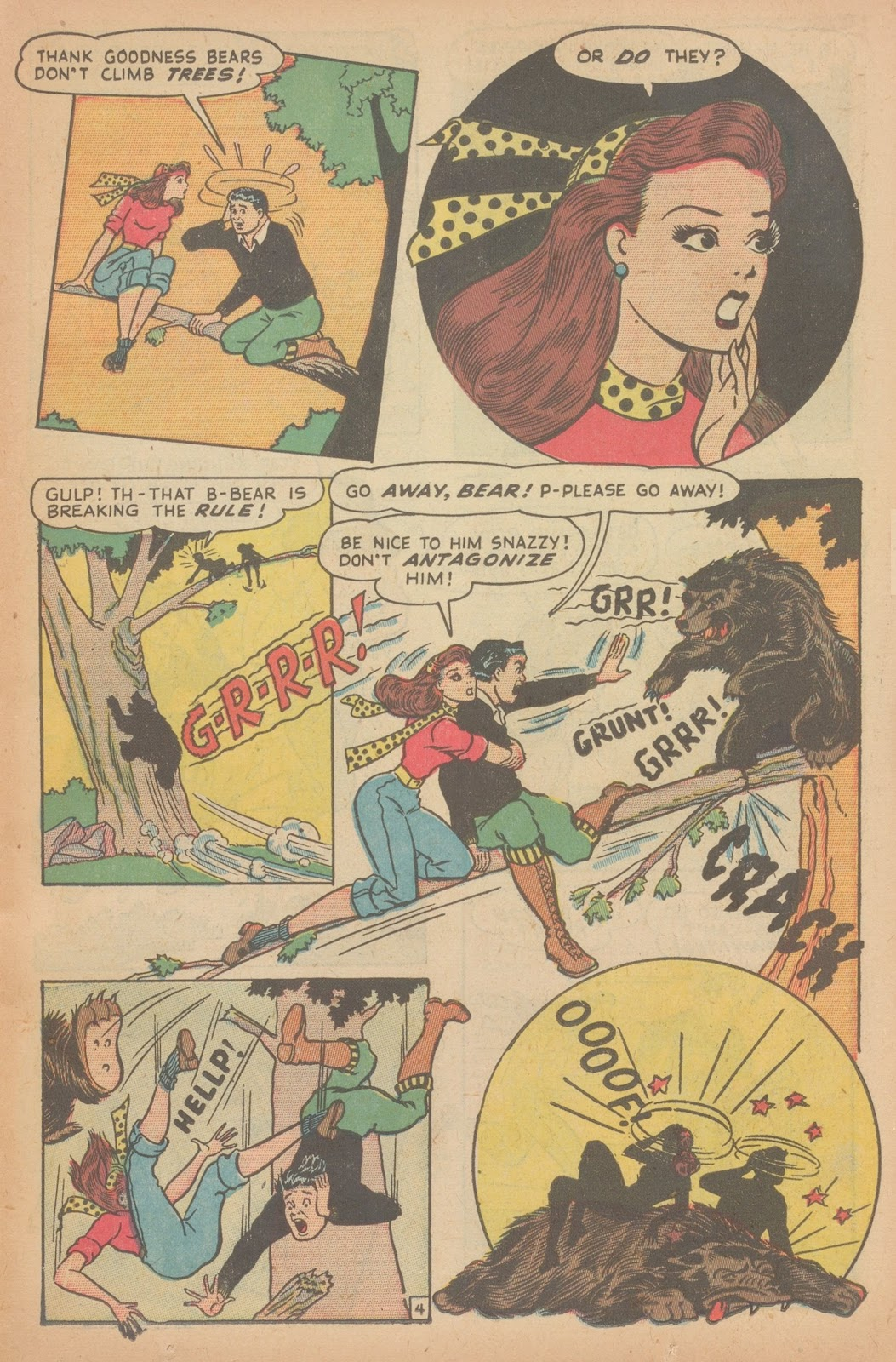 Read online Nellie The Nurse (1945) comic -  Issue #11 - 15