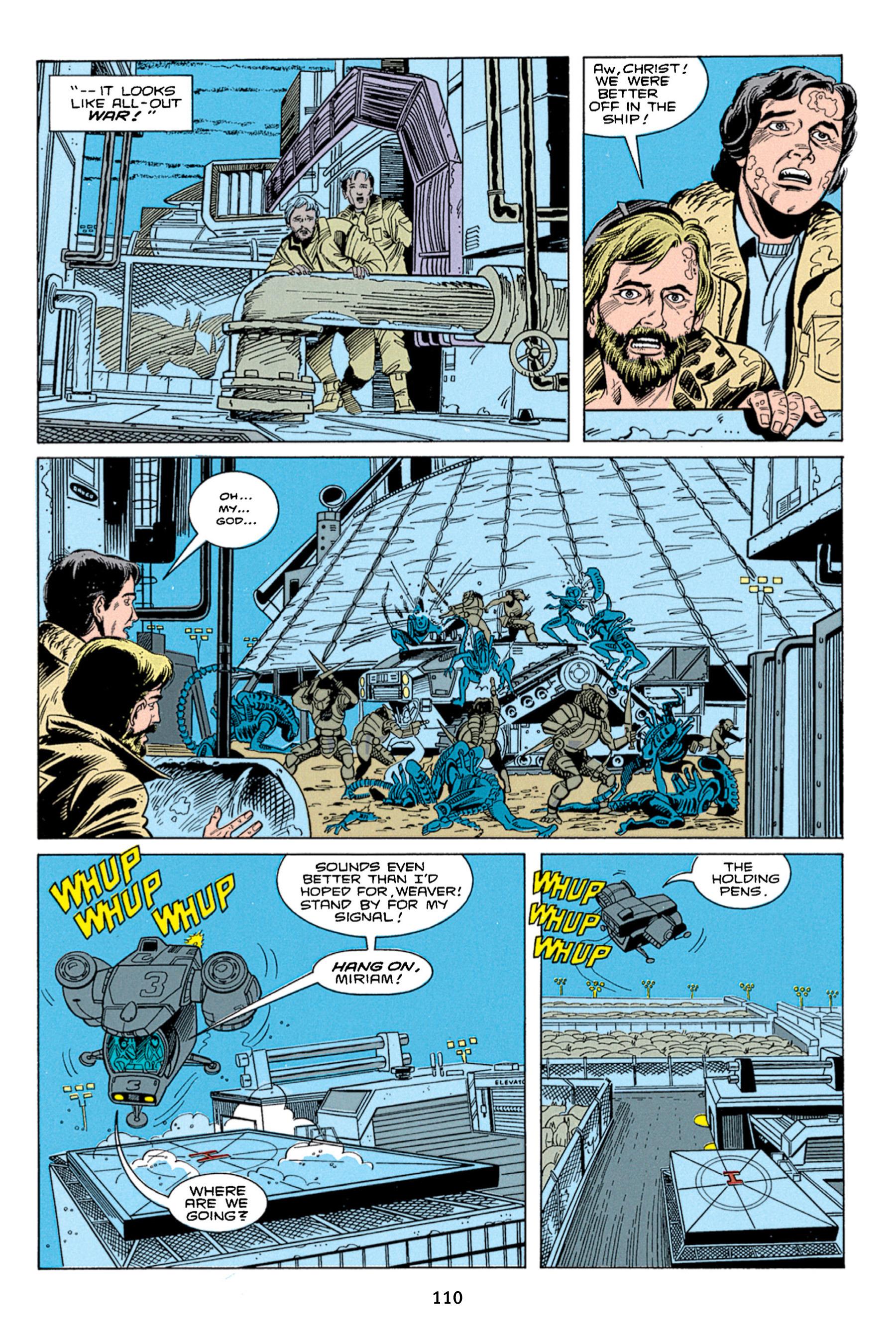 Read online Aliens vs. Predator Omnibus comic -  Issue # _TPB 1 Part 2 - 9
