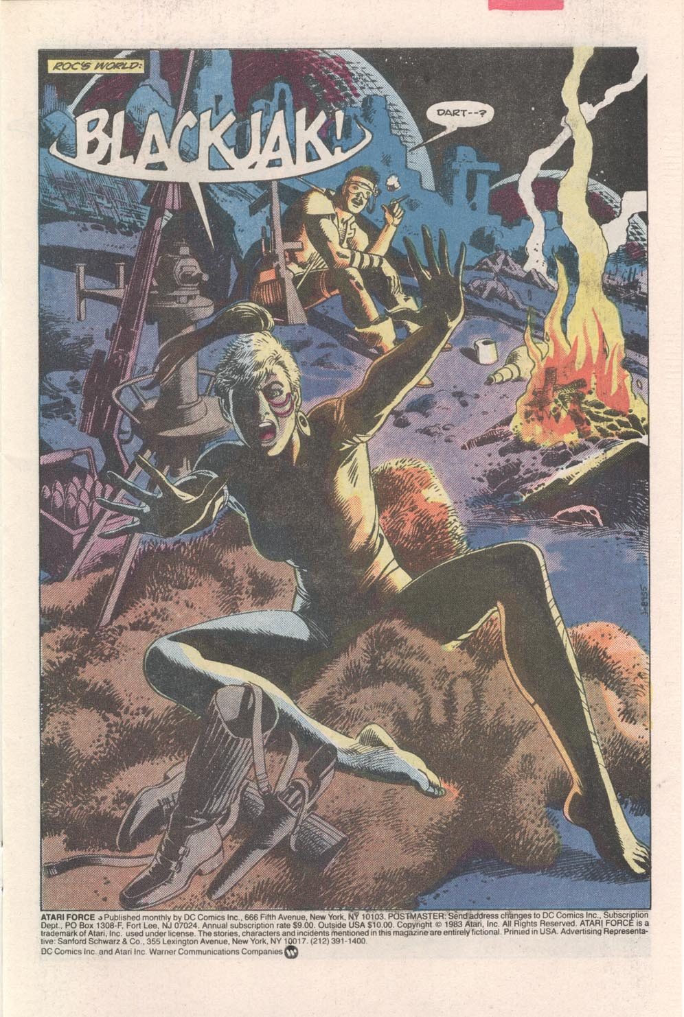Read online Atari Force (1984) comic -  Issue #3 - 2