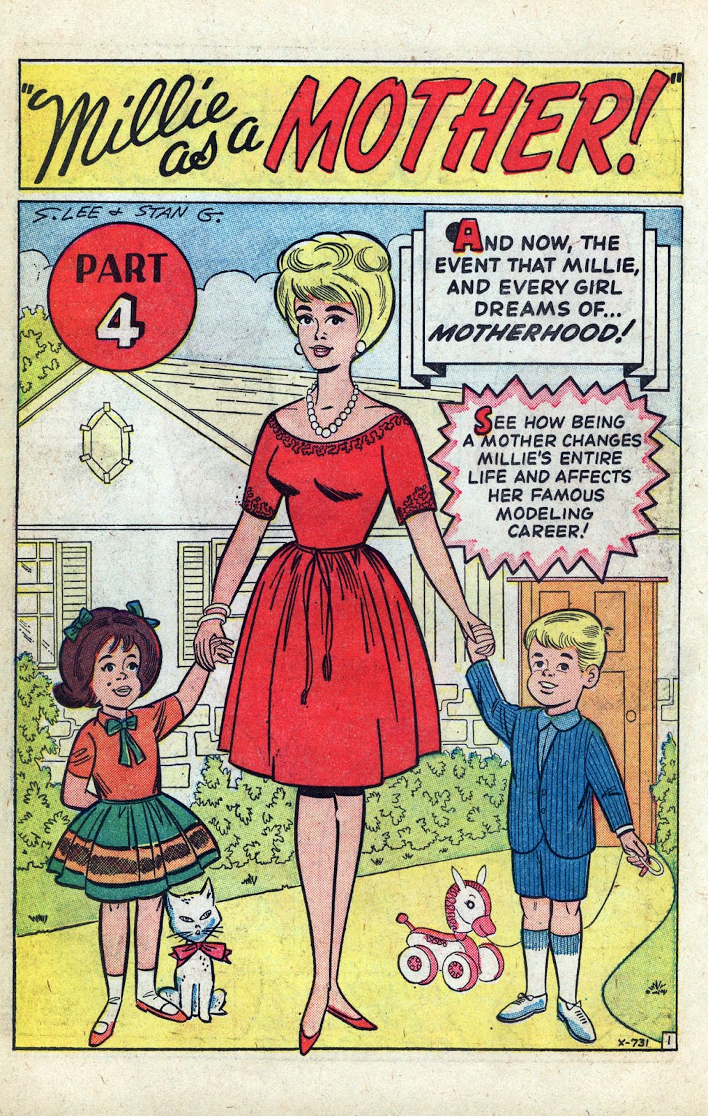 Read online Millie the Model comic -  Issue # Annual 3 - 56