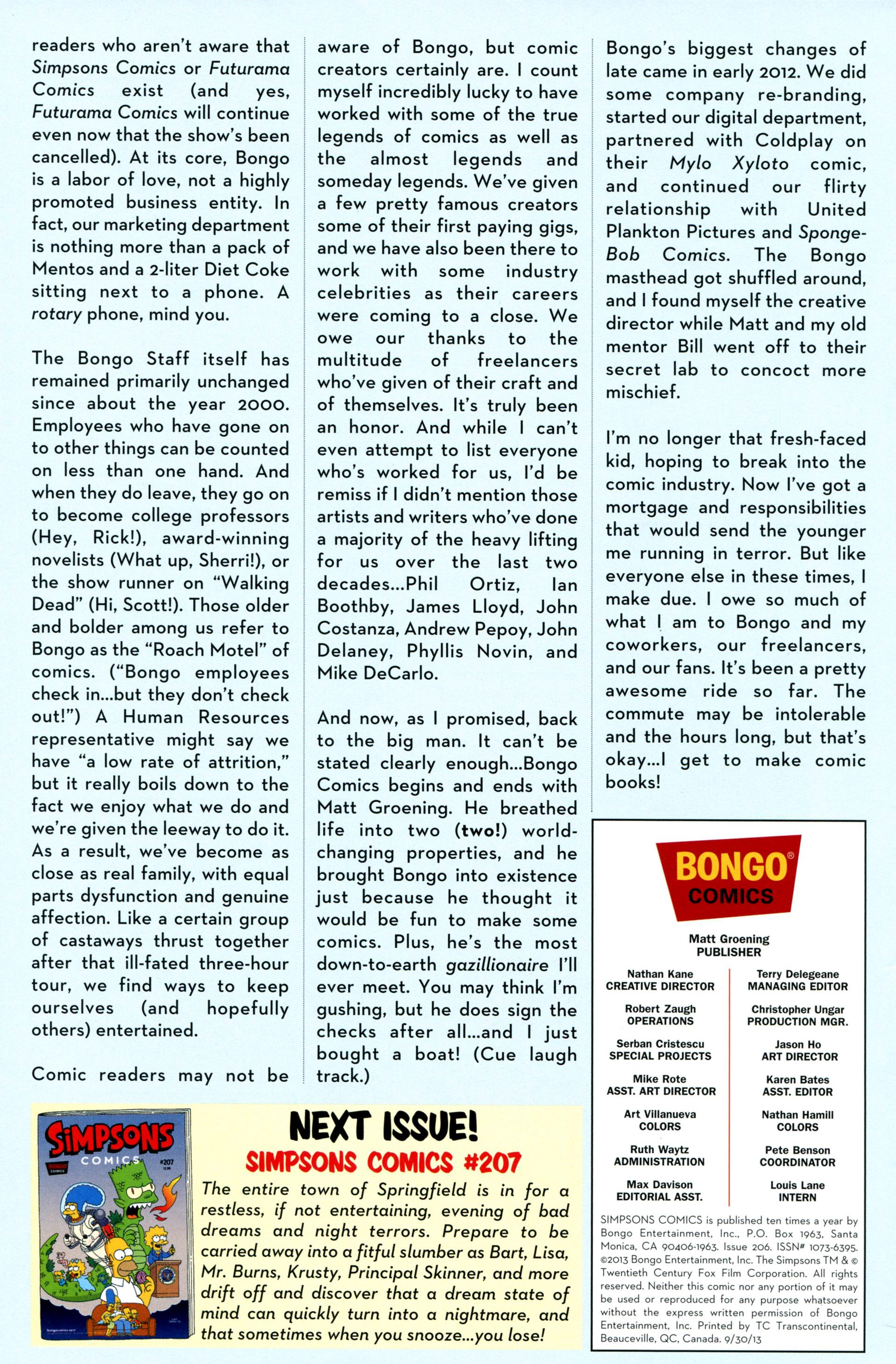 Read online Simpsons Comics comic -  Issue #206 - 28